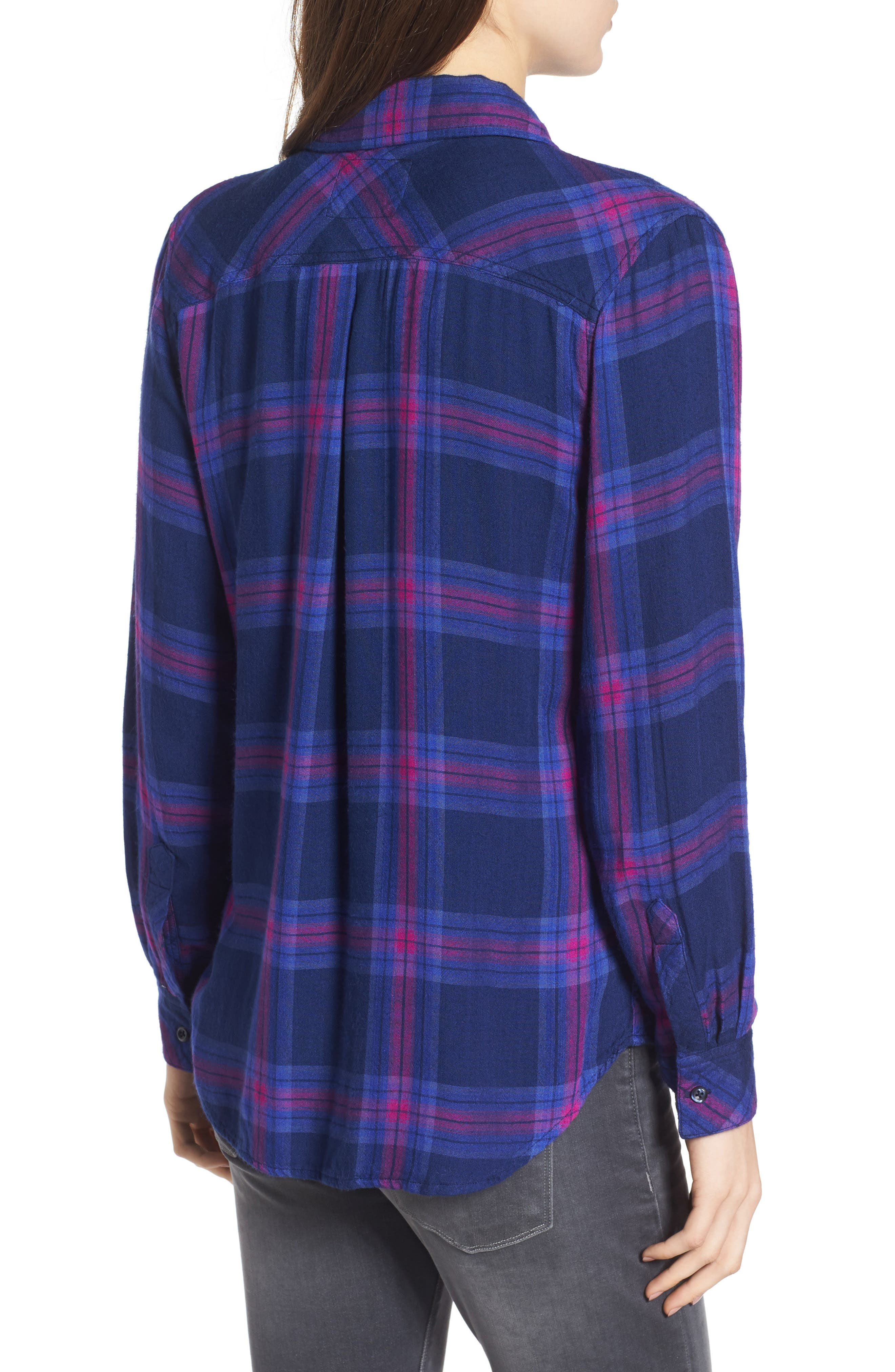 Taitum Plaid Shirt,                             Alternate thumbnail 2, color,