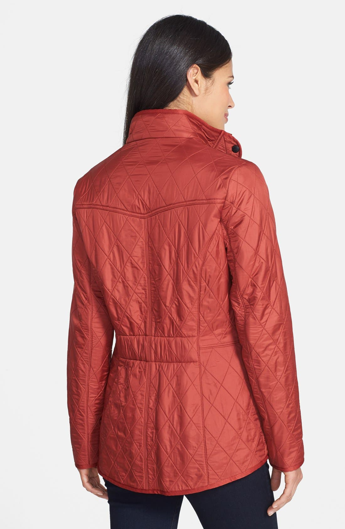 'Cavalry' Quilted Jacket,                             Alternate thumbnail 20, color,