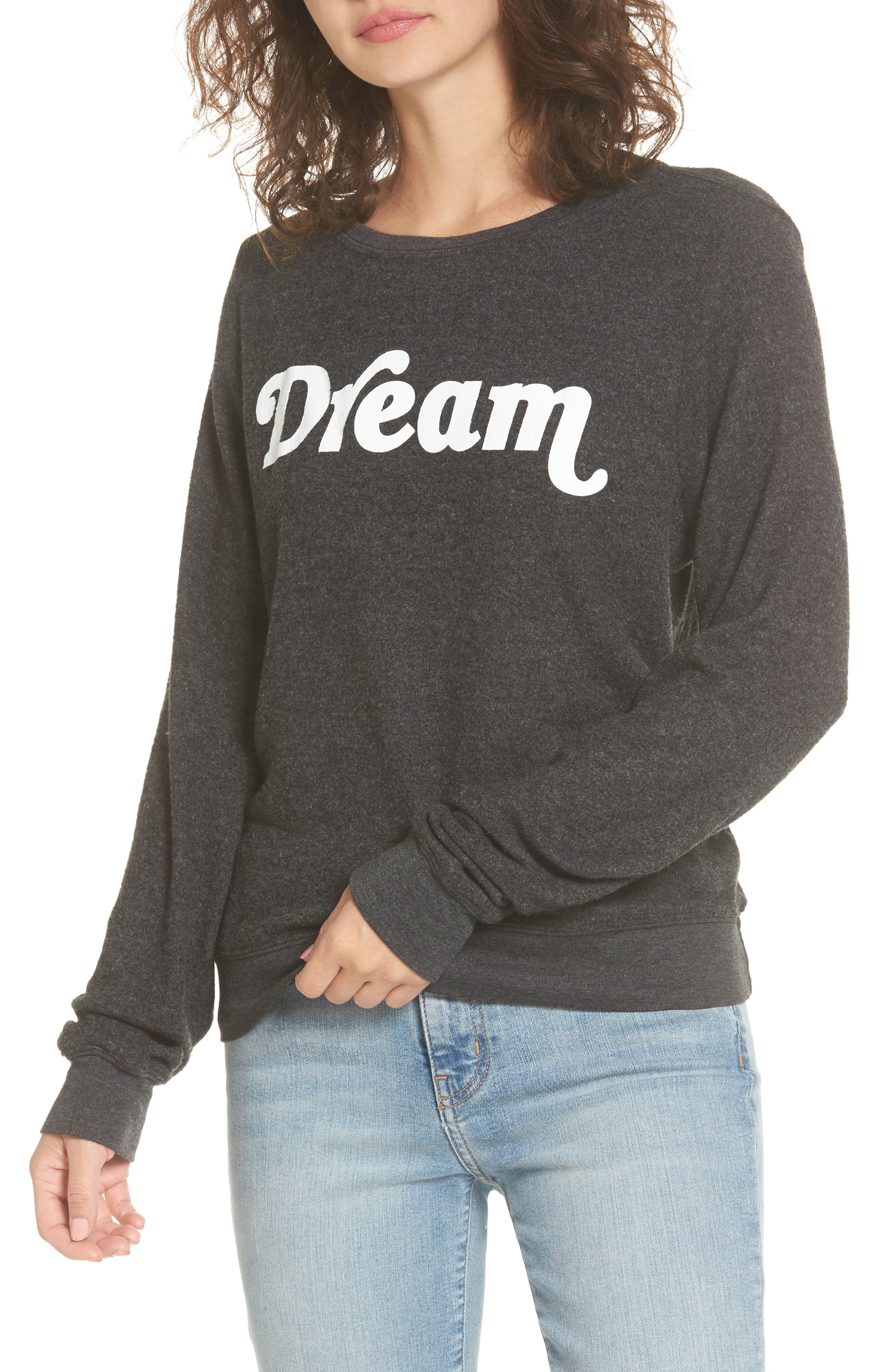 Dream Sweatshirt,                             Main thumbnail 1, color,                             001