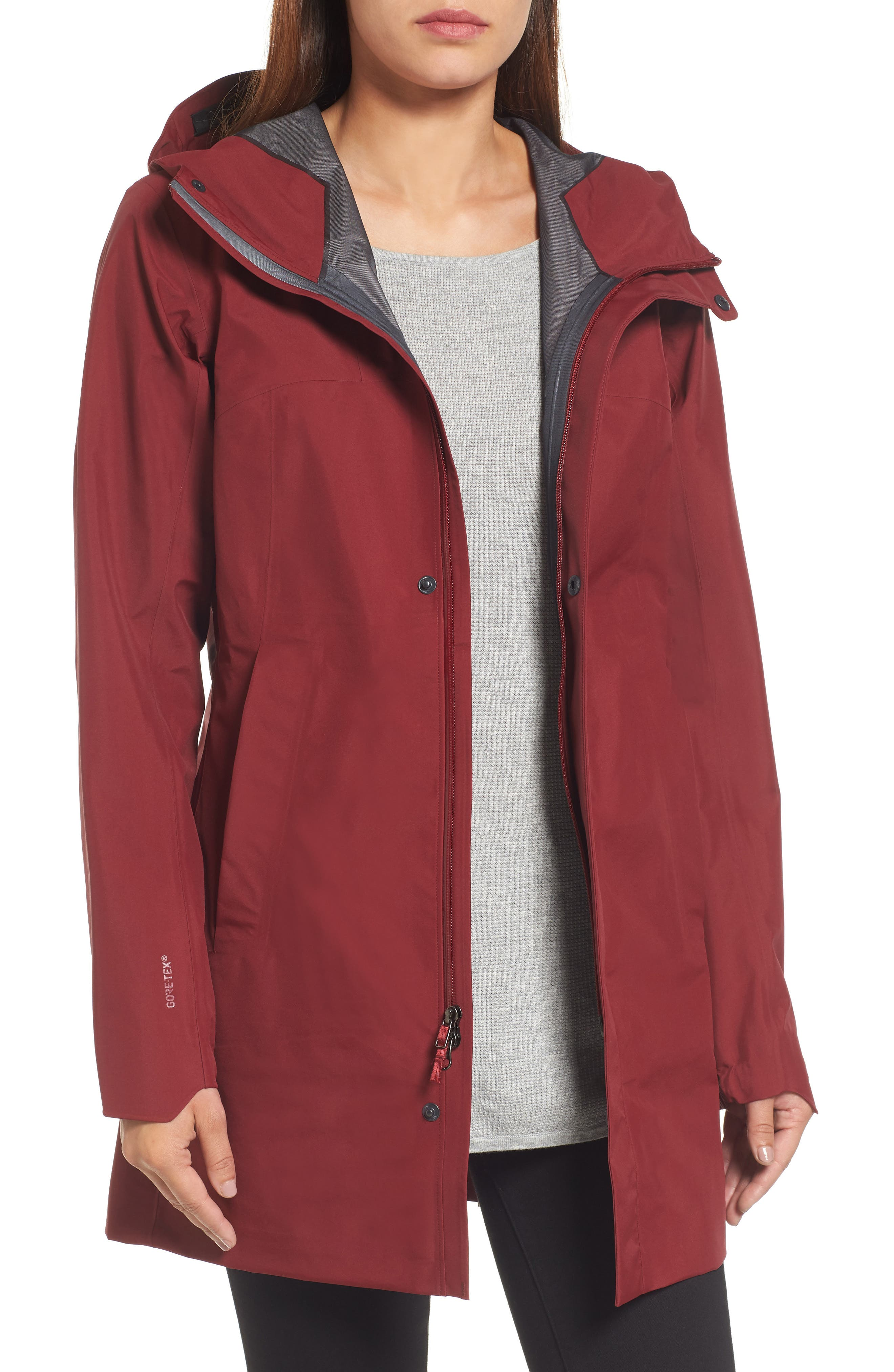 Codetta Waterproof Relaxed Fit Gore-Tex<sup>®</sup> 3L Rain Jacket,                             Main thumbnail 2, color,