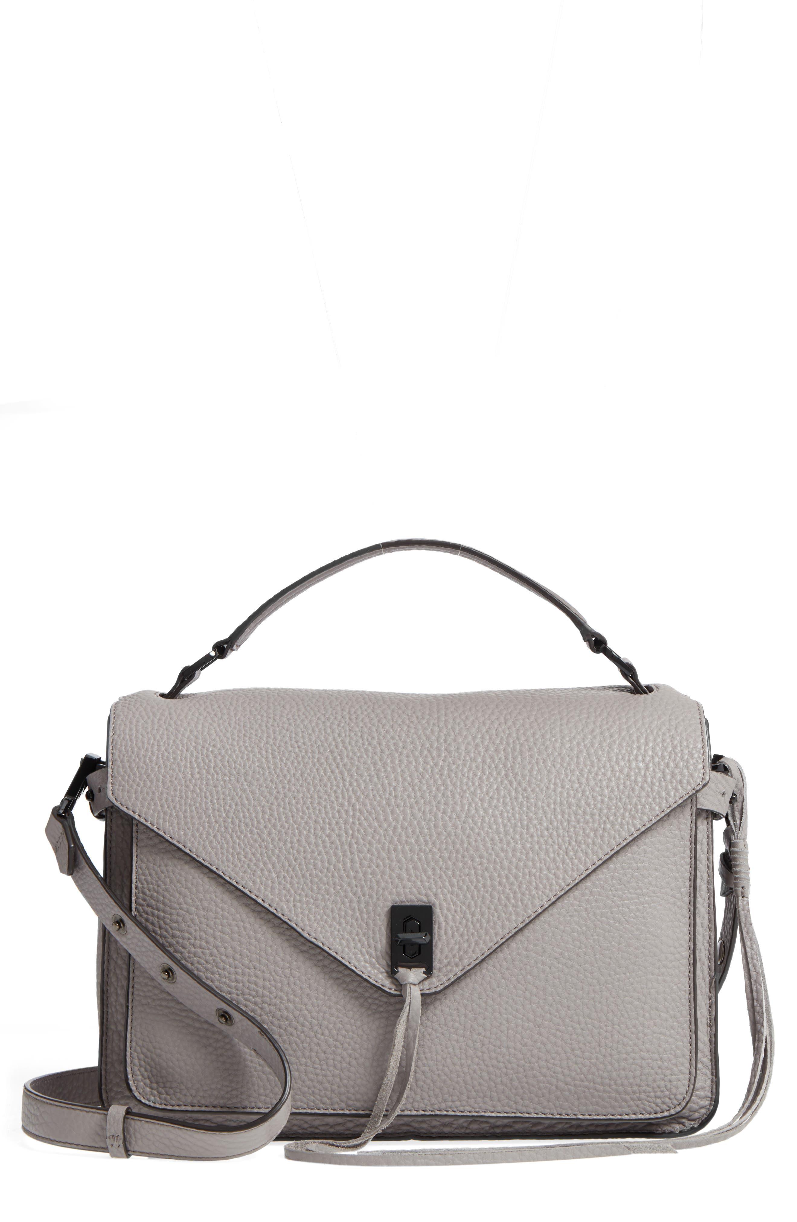 Darren Leather Messenger Bag,                         Main,                         color,