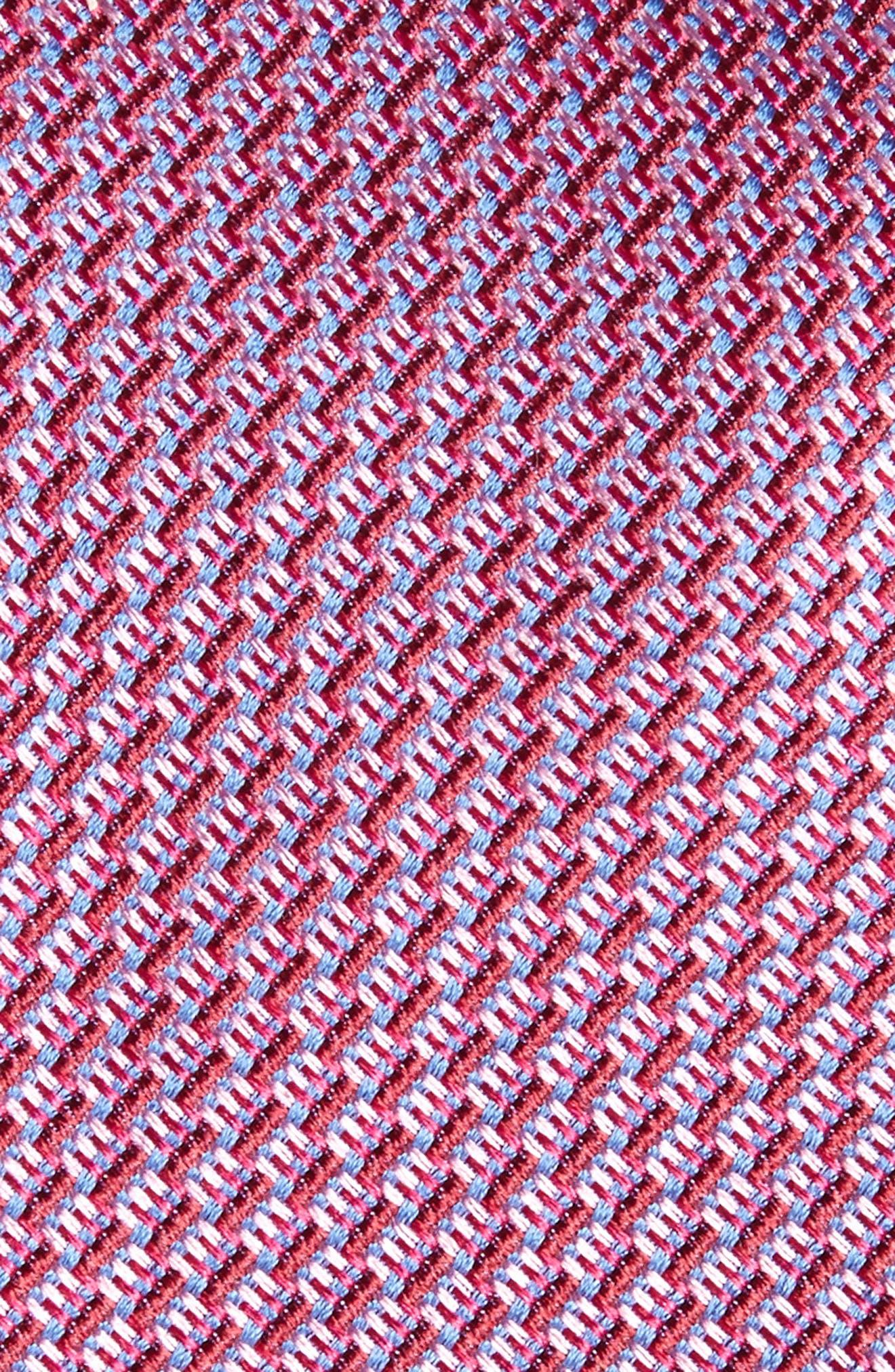 Tech Woven Silk Tie,                             Alternate thumbnail 4, color,