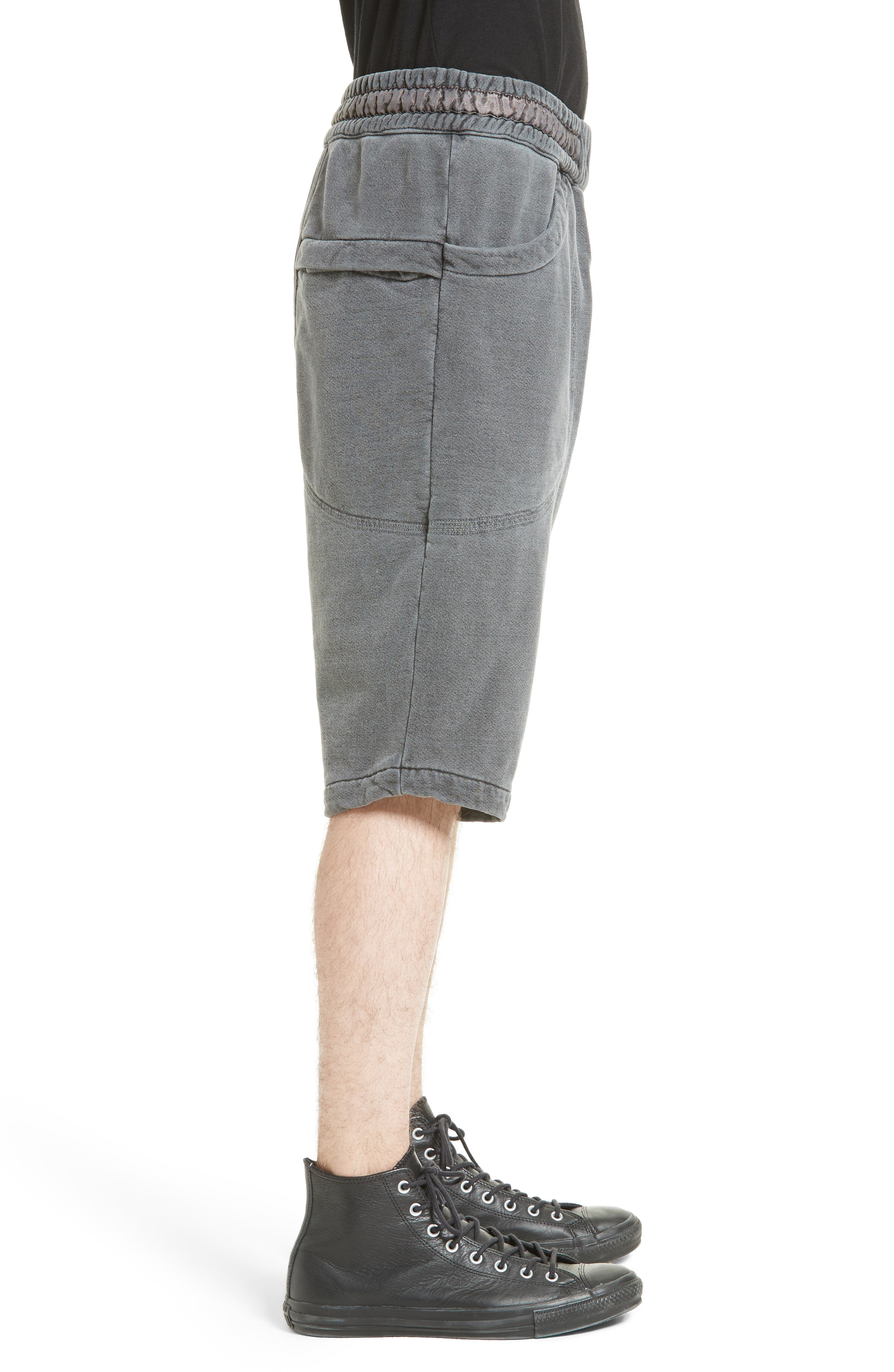 Quark Sweat Shorts,                             Alternate thumbnail 3, color,                             001
