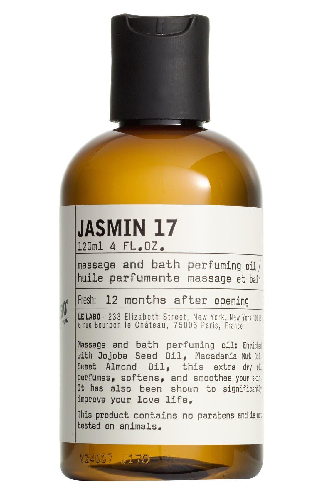 'Jasmin 17' Body Oil,                             Main thumbnail 1, color,                             NO COLOR