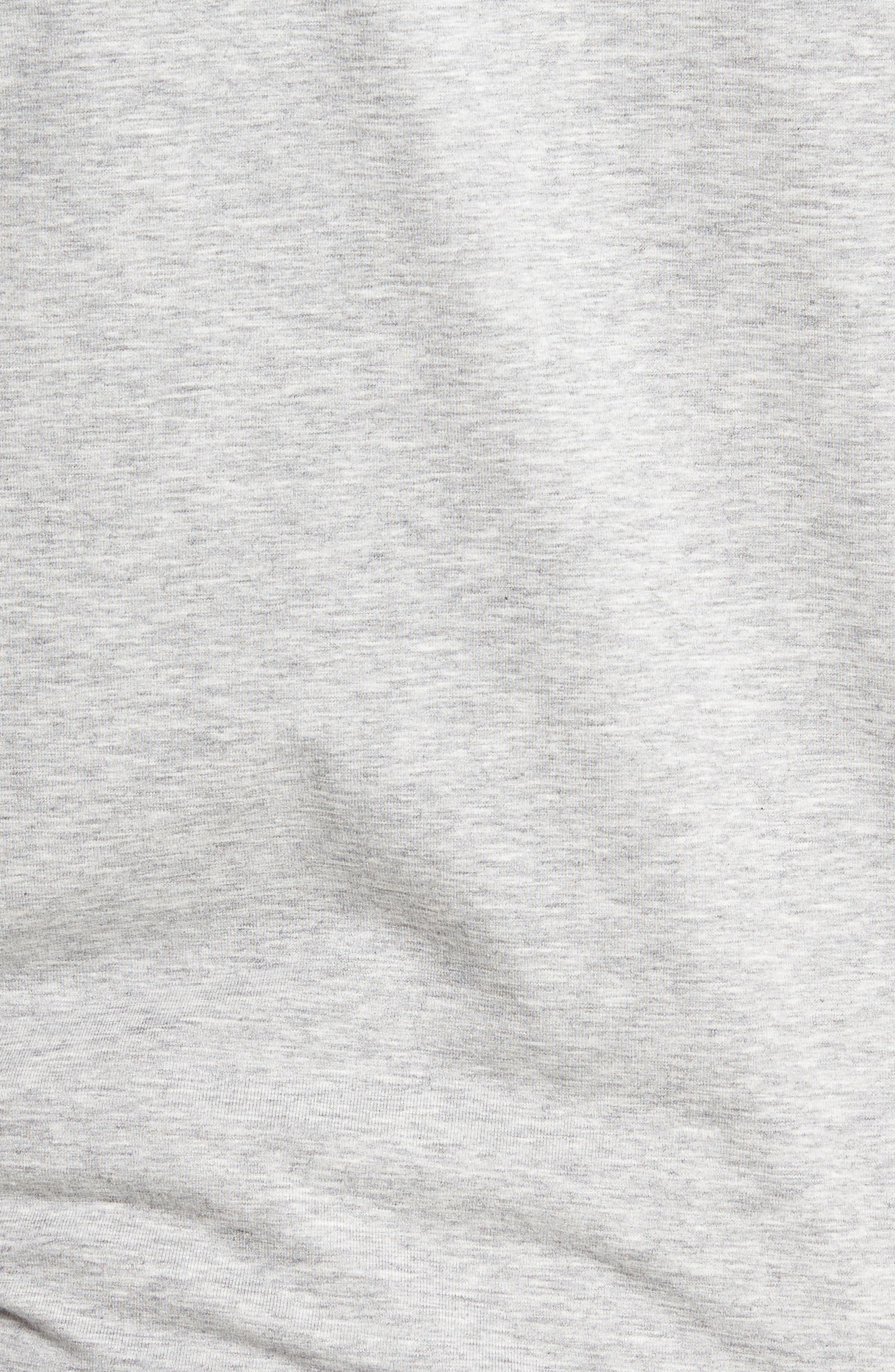 'Strange Love' Trim Fit Wrinkle Resistant Quarter Zip Jacket,                             Alternate thumbnail 6, color,                             020
