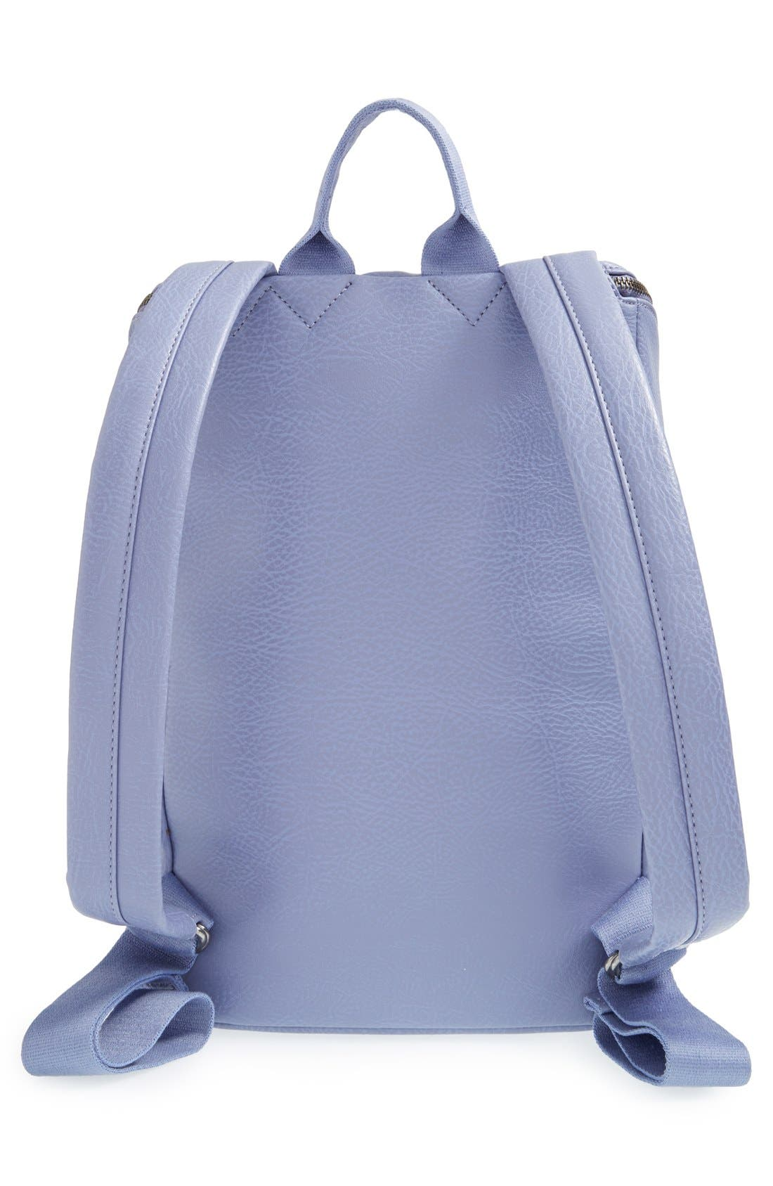 'Brave' Faux Leather Backpack,                             Alternate thumbnail 59, color,