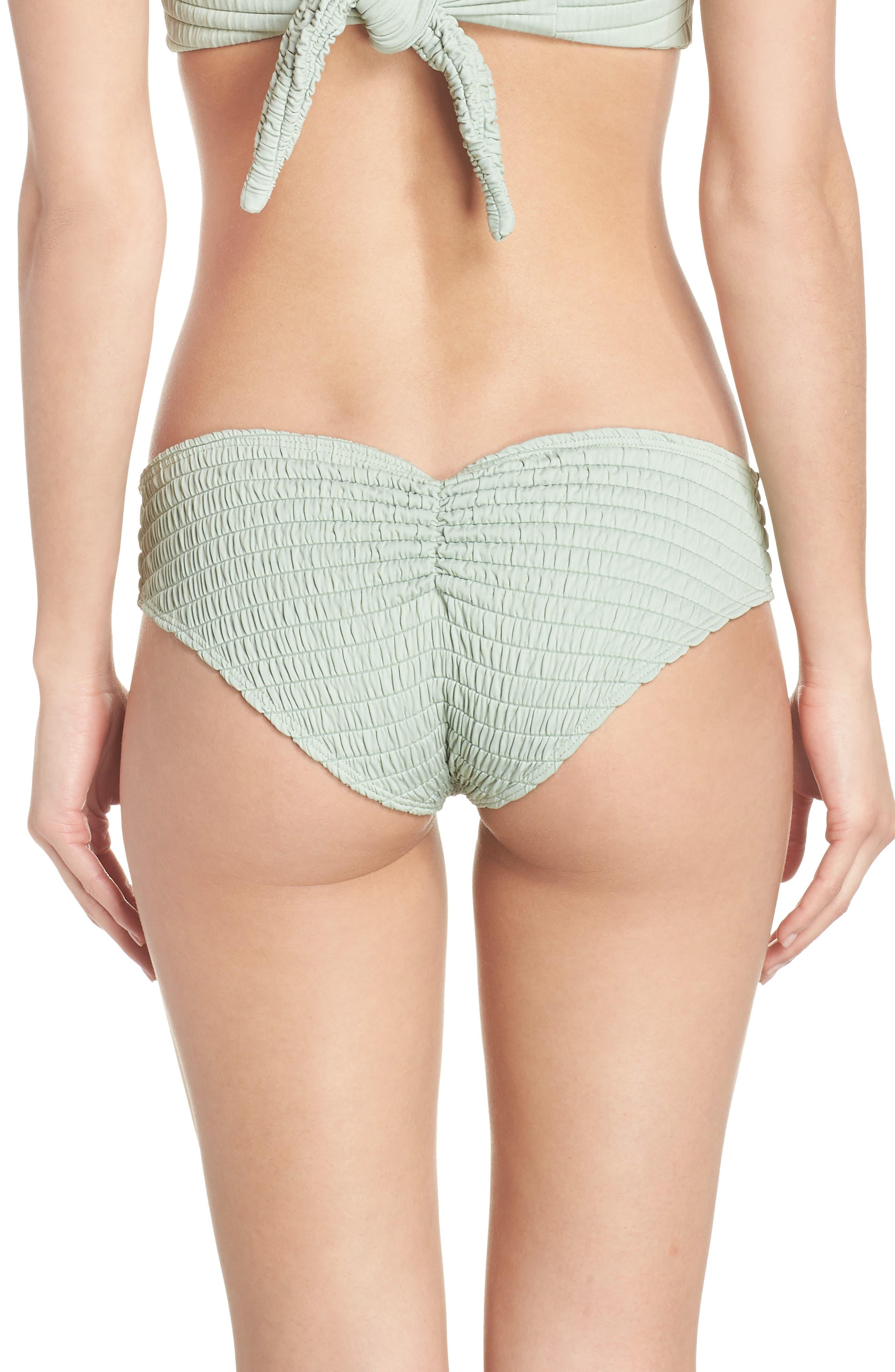 AC Nu Micro Bikini Bottoms,                             Alternate thumbnail 2, color,                             PISTACHE SCRUNCH GREEN