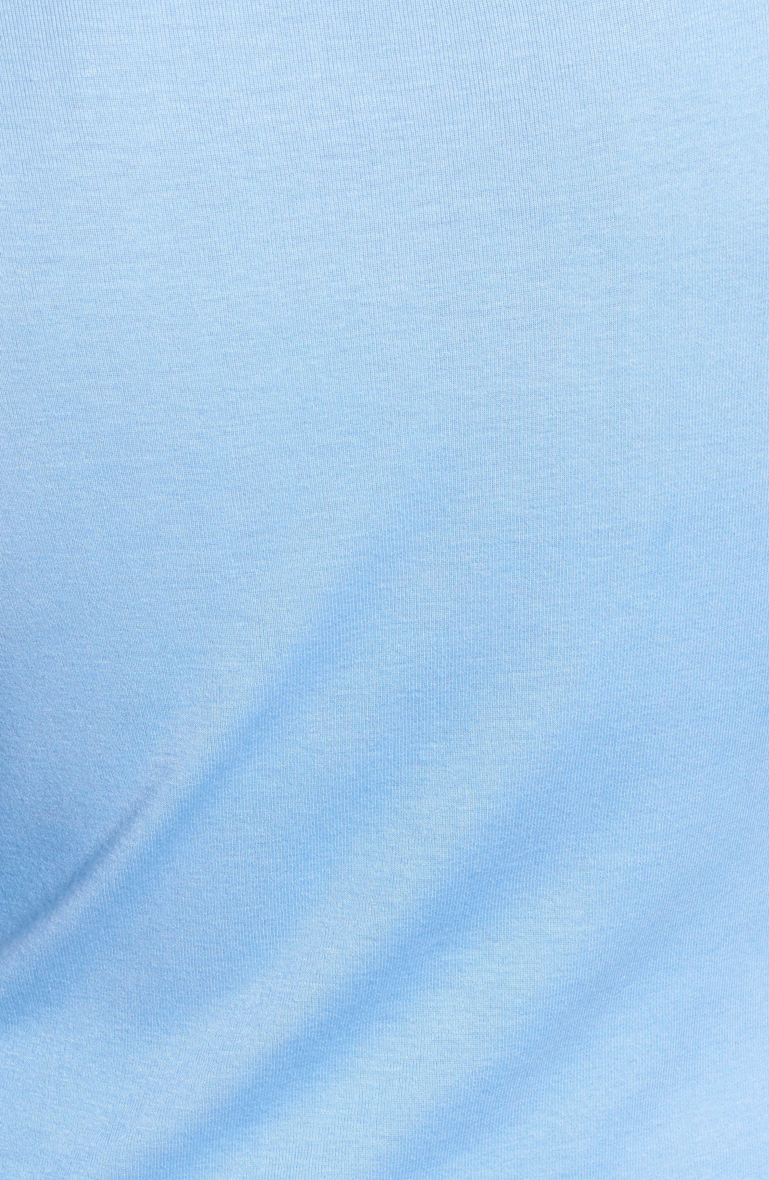 Three Quarter Sleeve Tee,                             Alternate thumbnail 91, color,
