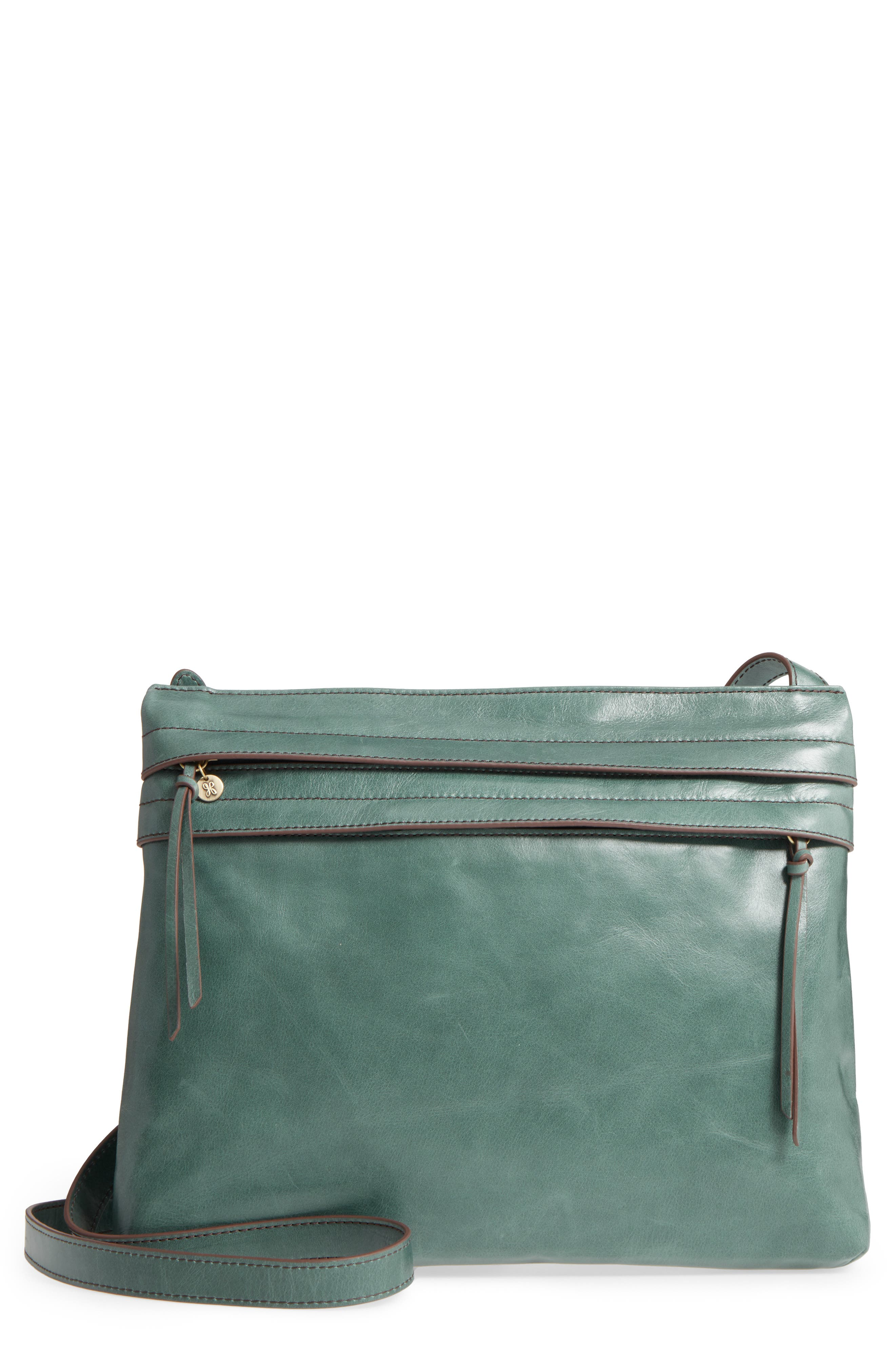 Larkin Leather Messenger Bag,                             Main thumbnail 1, color,                             357