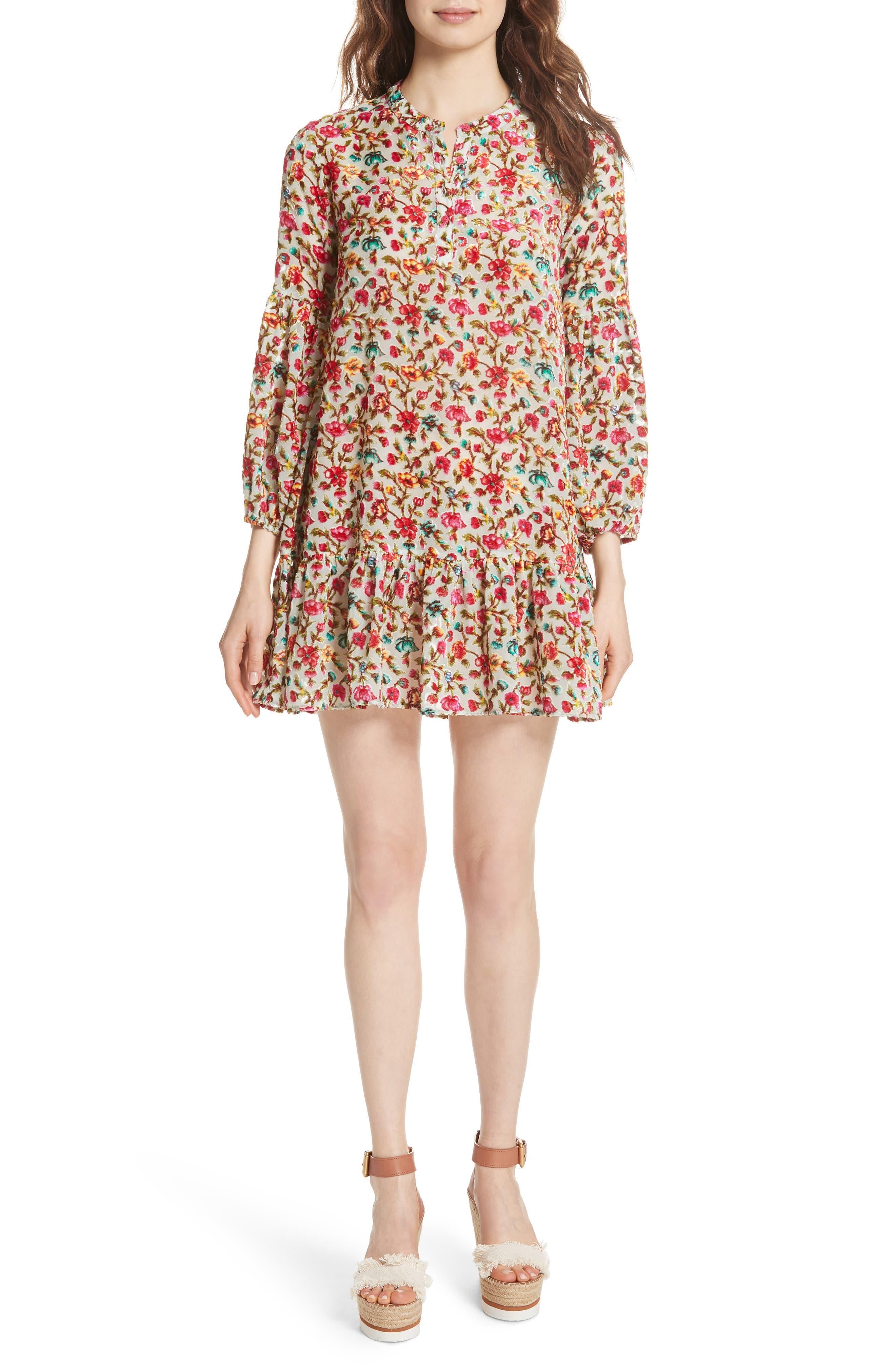 Simpson Printed Dress,                             Main thumbnail 1, color,                             693