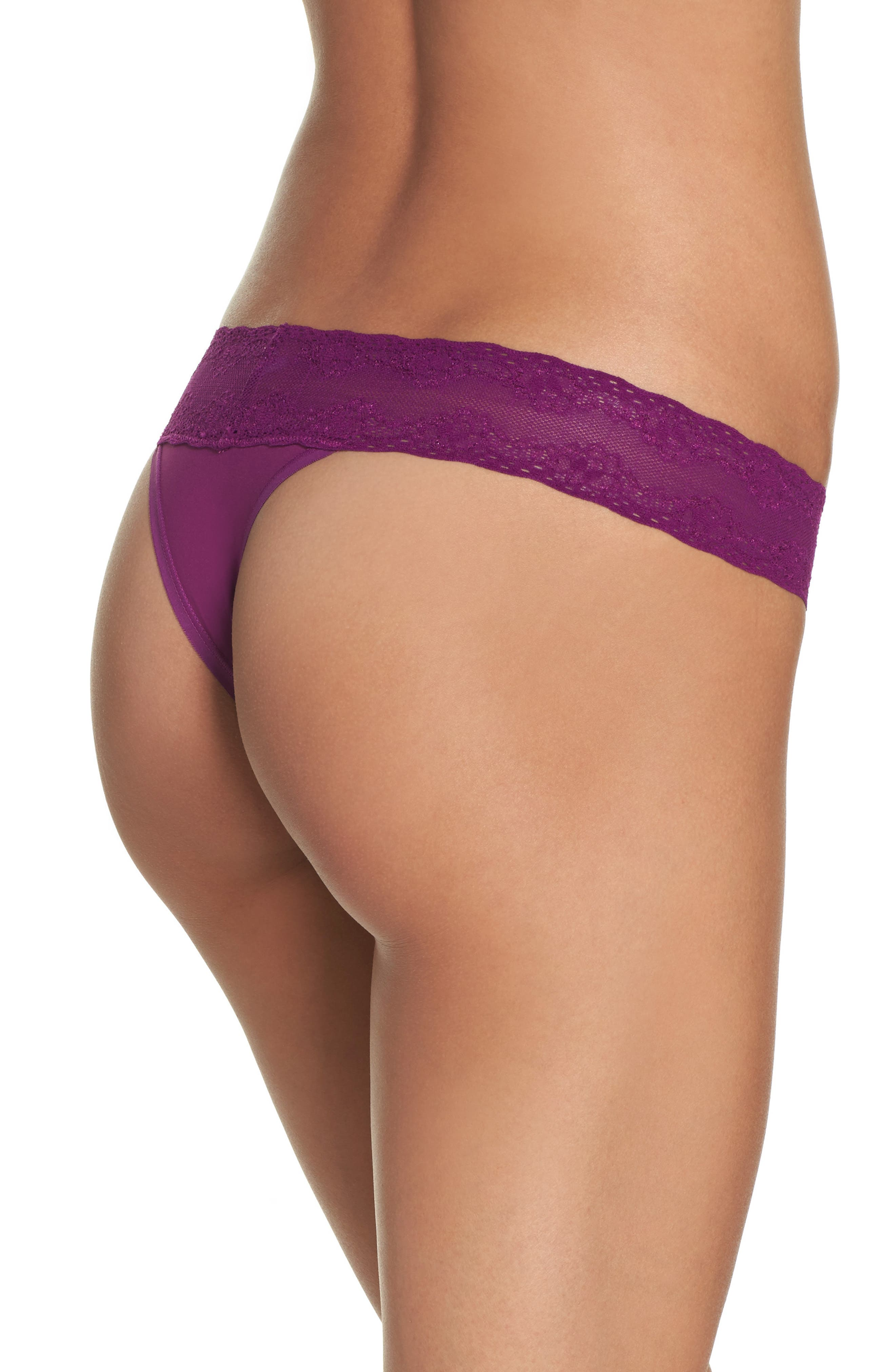 Bliss Perfection Thong,                             Alternate thumbnail 175, color,