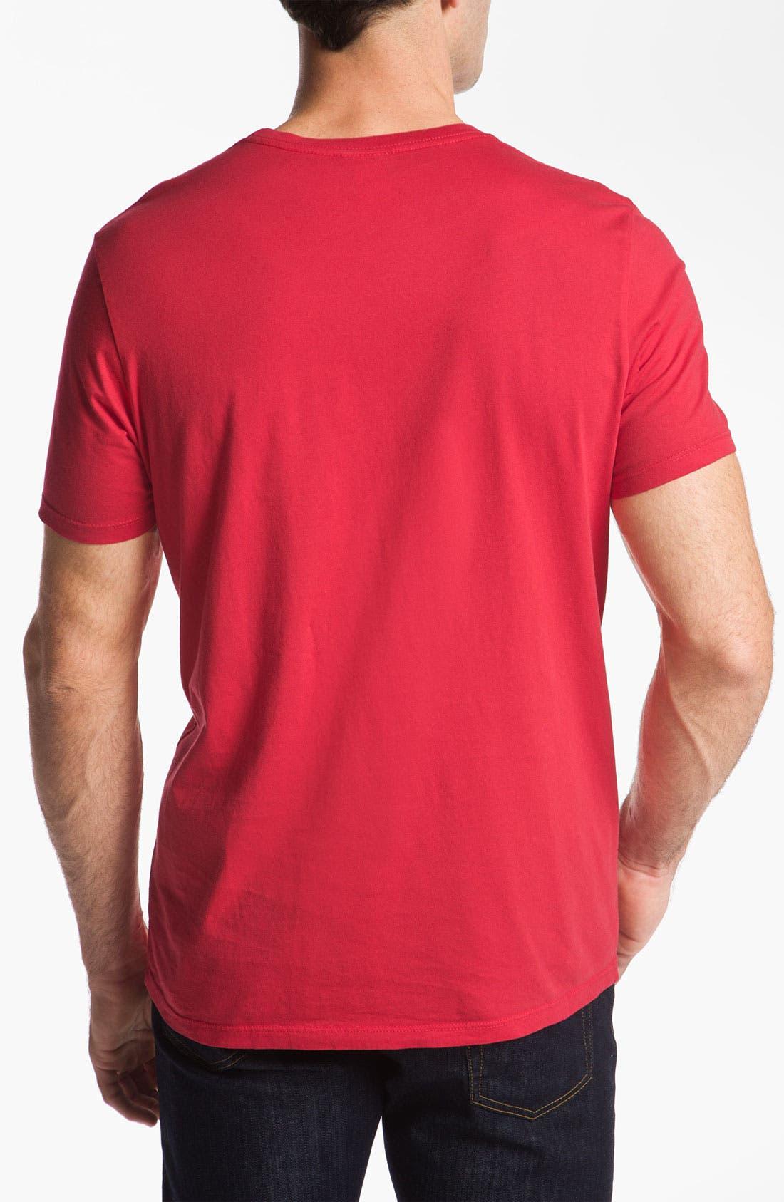 'New England Patriots' T-Shirt,                             Alternate thumbnail 3, color,                             621