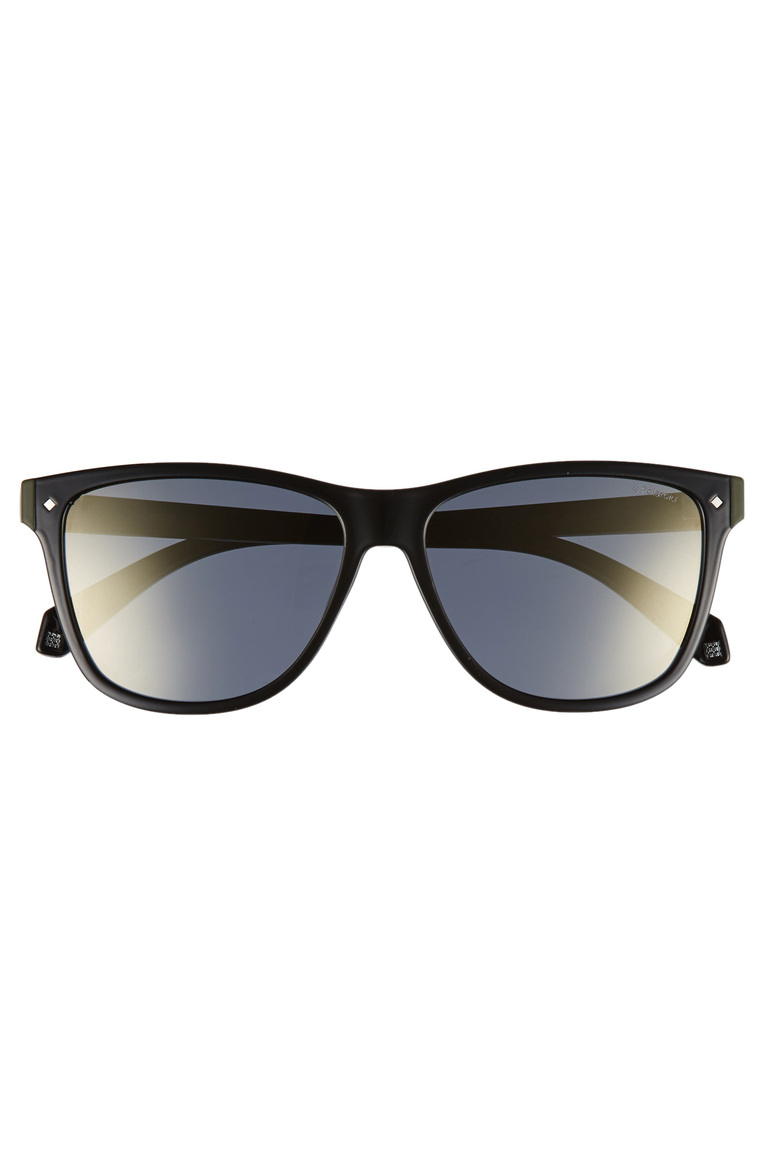 56mm Polarized Sunglasses,                             Alternate thumbnail 2, color,                             002
