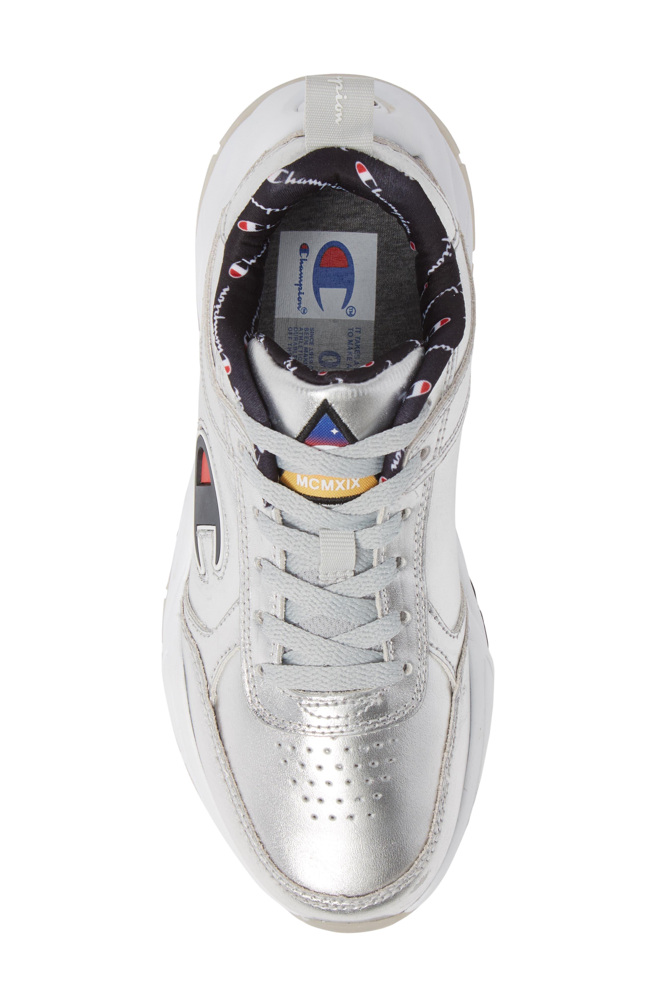 CHAMPION,                             93 Eighteen Metallic Sneaker,                             Alternate thumbnail 5, color,                             040