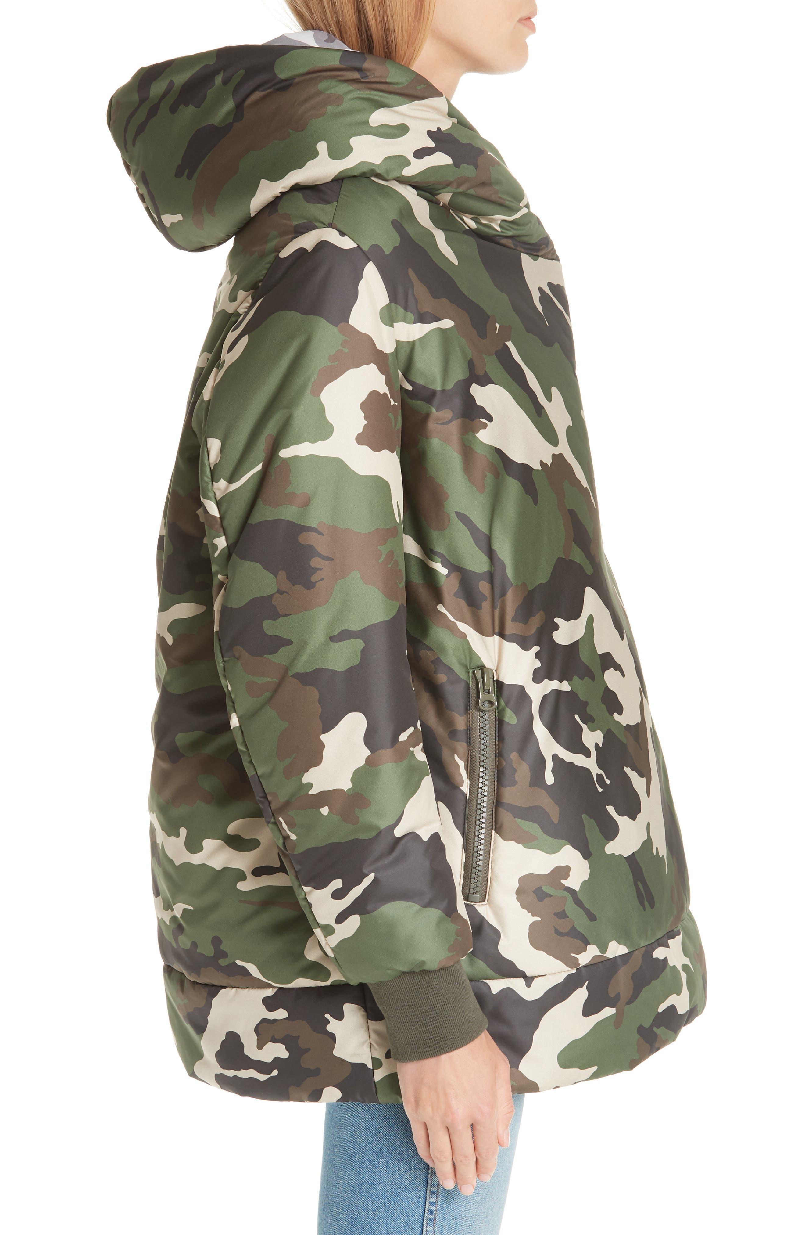BACON,                             Big Blanket 78 Camo Puffer Coat,                             Alternate thumbnail 3, color,                             300