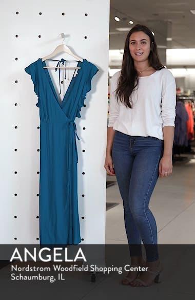 Solid Wrap Midi Dress, sales video thumbnail