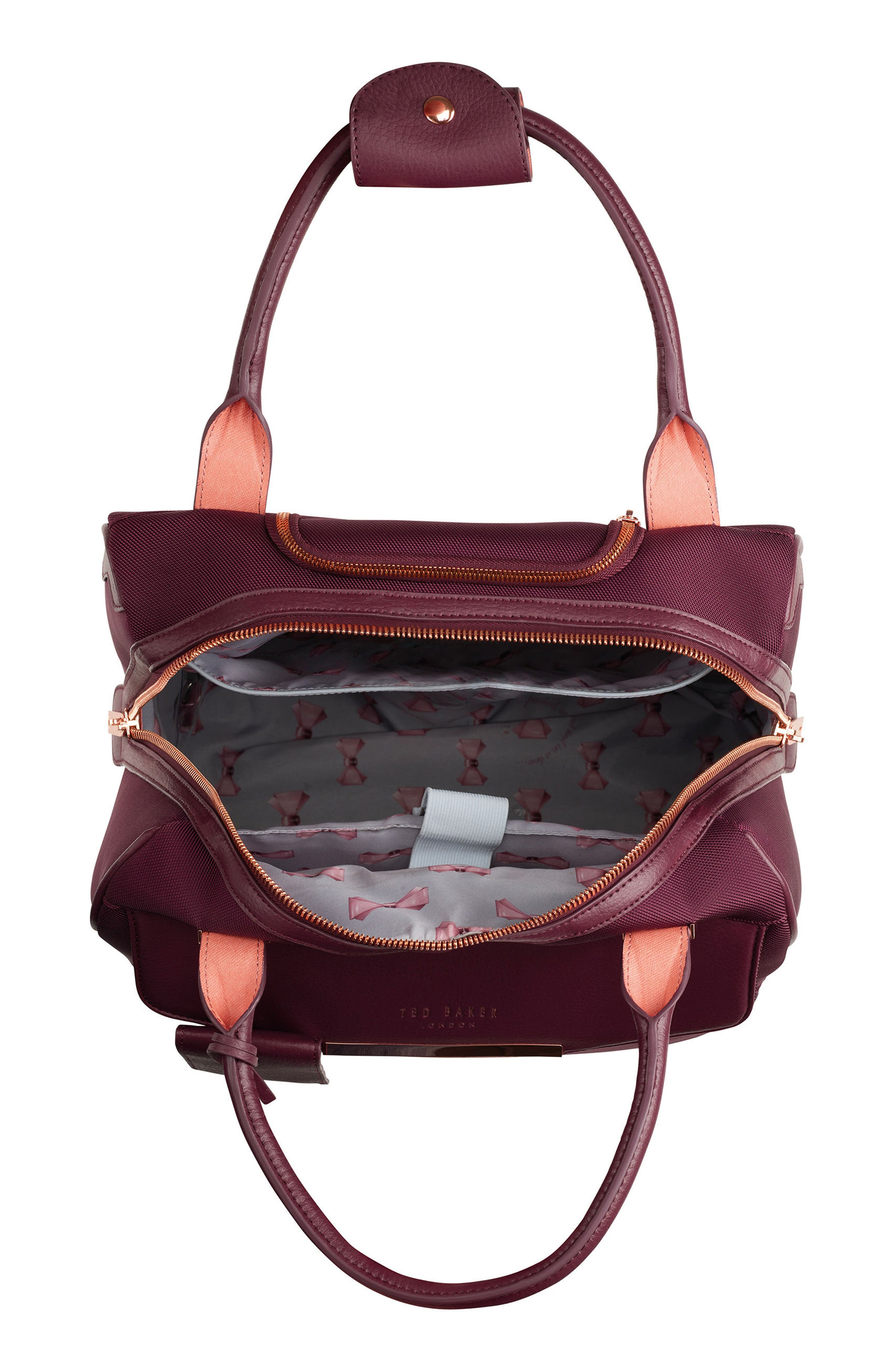 Business 16-Inch Trolley Case,                             Alternate thumbnail 2, color,                             BURGUNDY