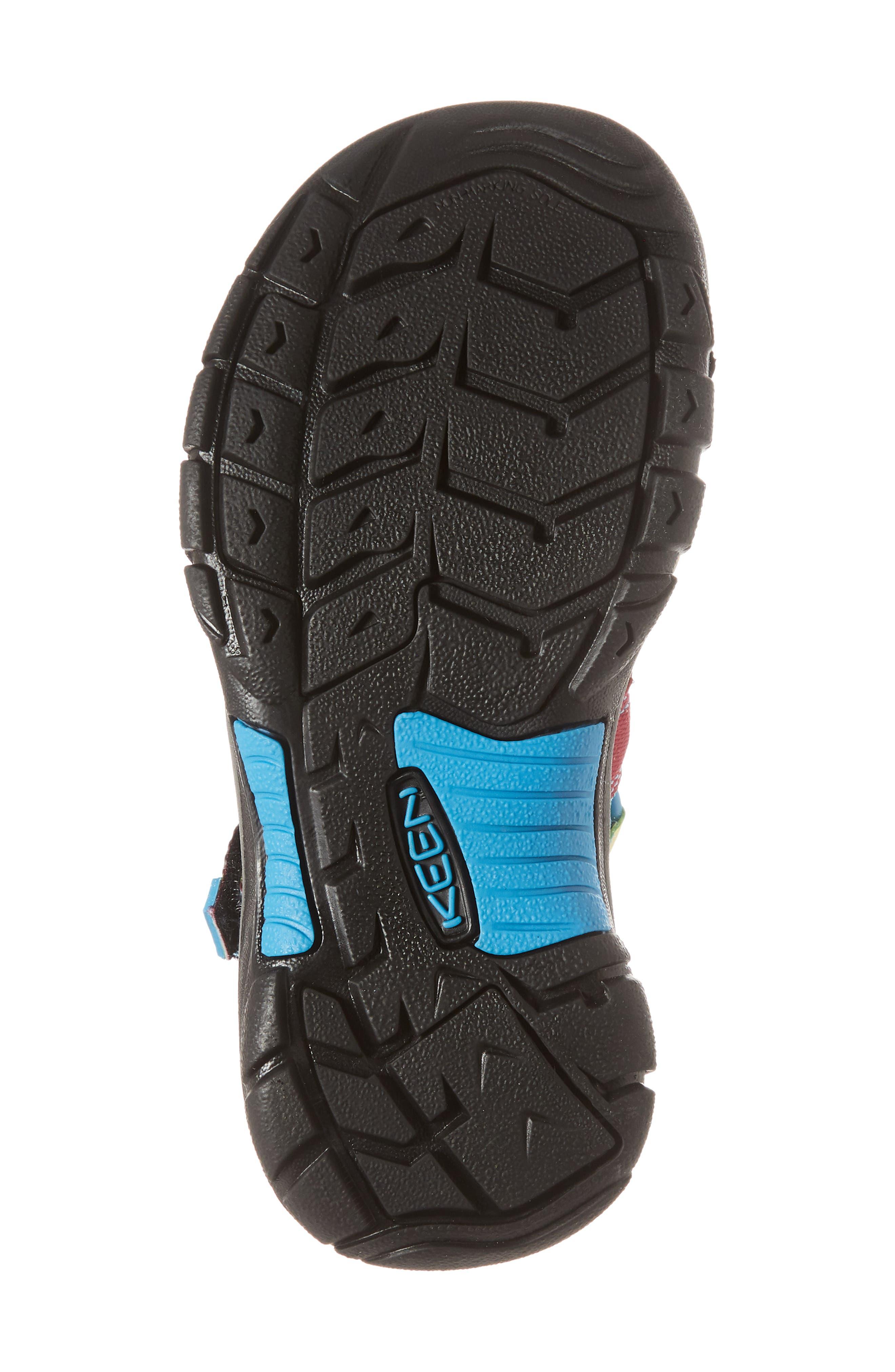 'Newport H2' Water Friendly Sandal,                             Alternate thumbnail 6, color,                             RAINBOW TIE DYE