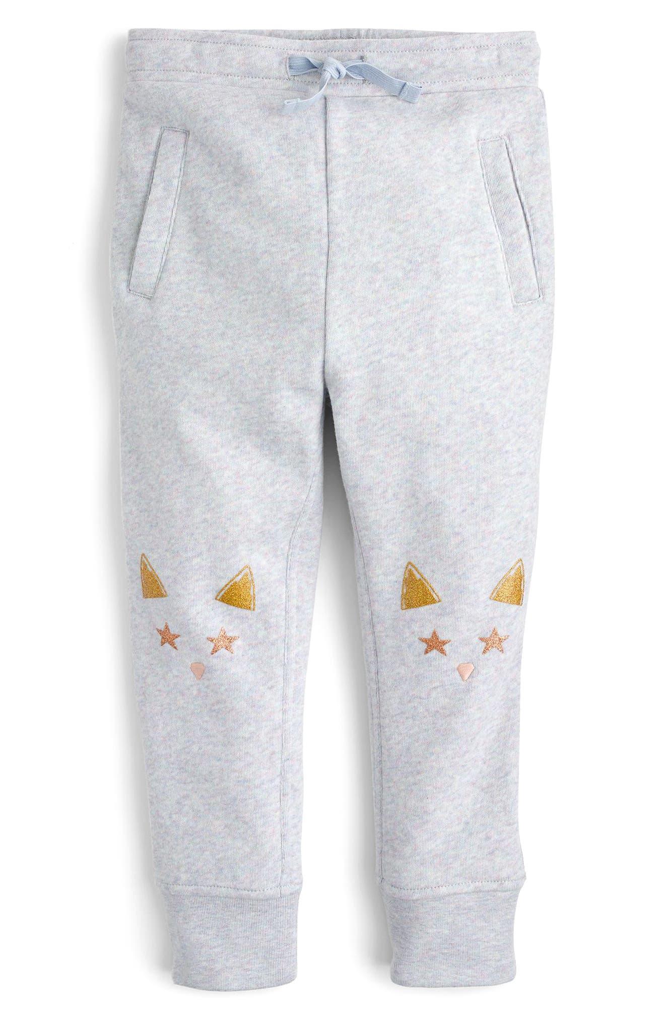 Cat Knee Sweatpants,                             Main thumbnail 1, color,                             020