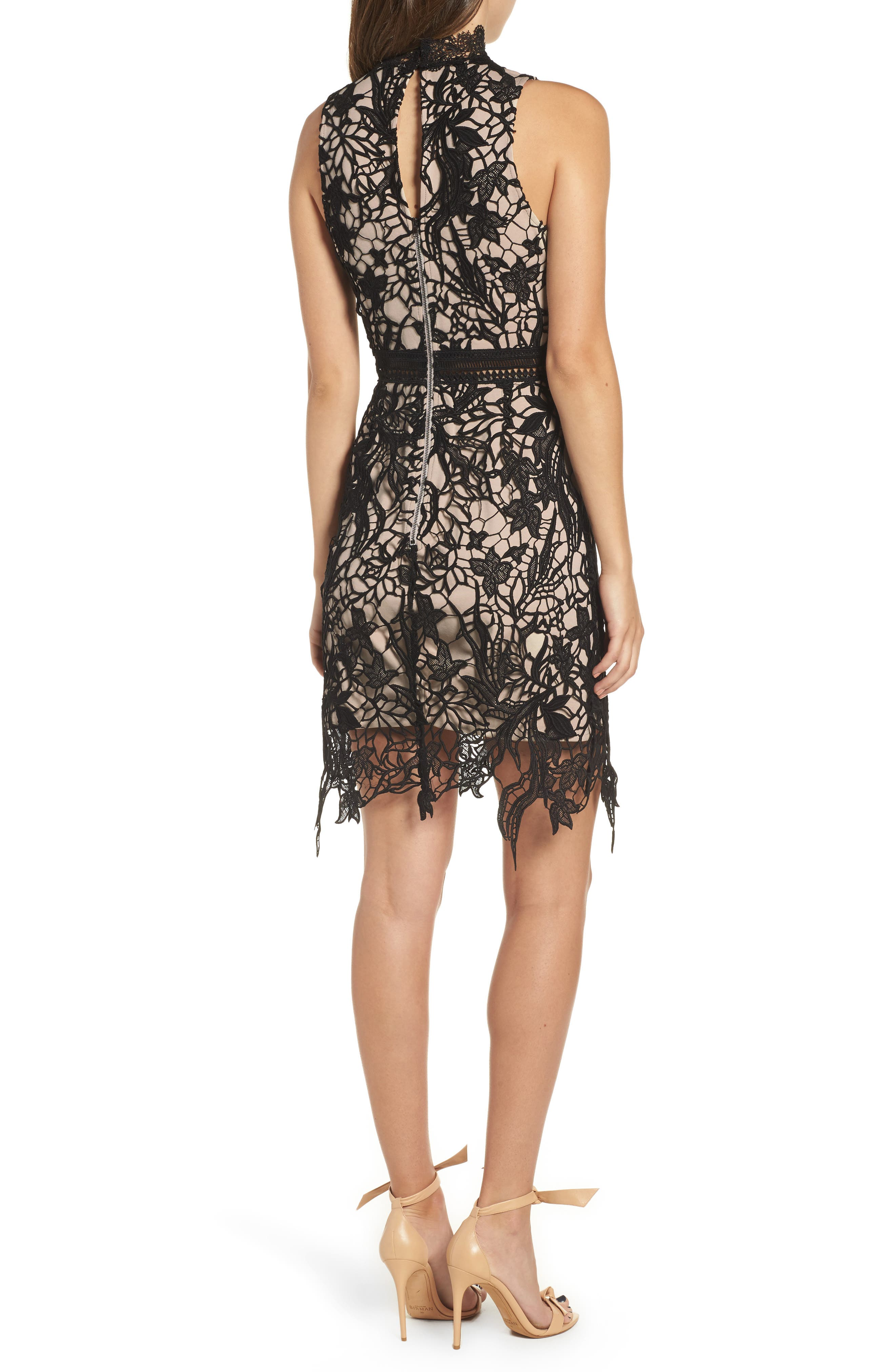 Felicity Sheath Dress,                             Alternate thumbnail 2, color,                             001