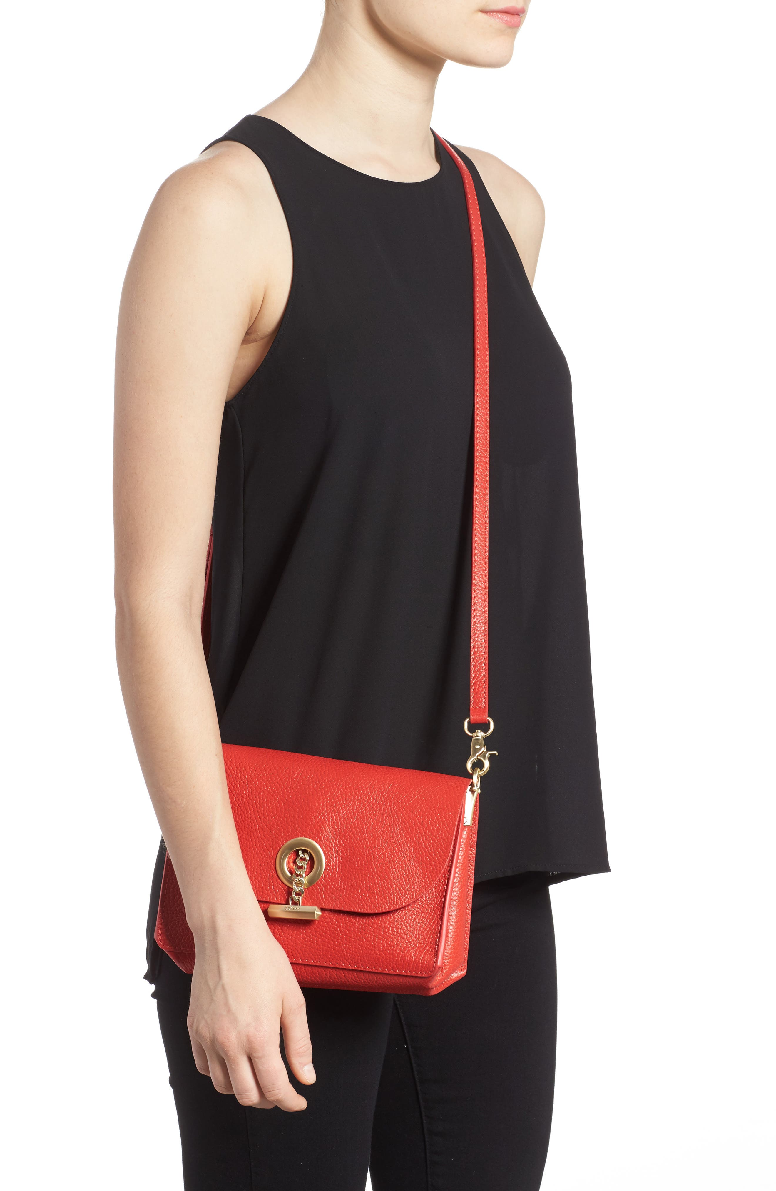 Waverly Leather Crossbody Bag,                             Alternate thumbnail 16, color,