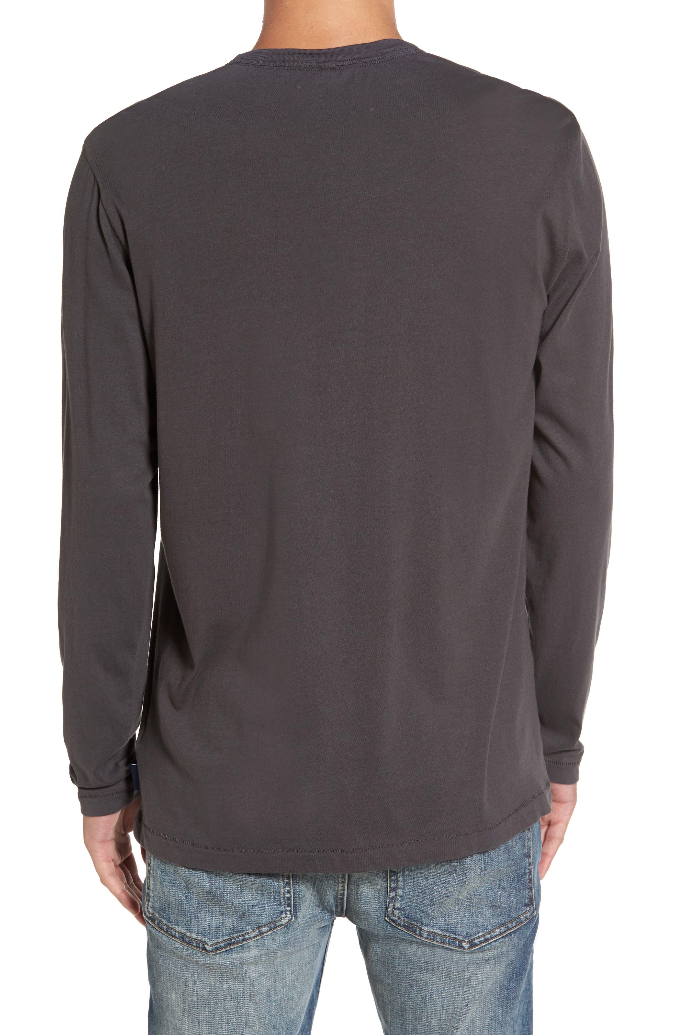 Long-Sleeve Henley T-Shirt,                             Alternate thumbnail 2, color,                             020