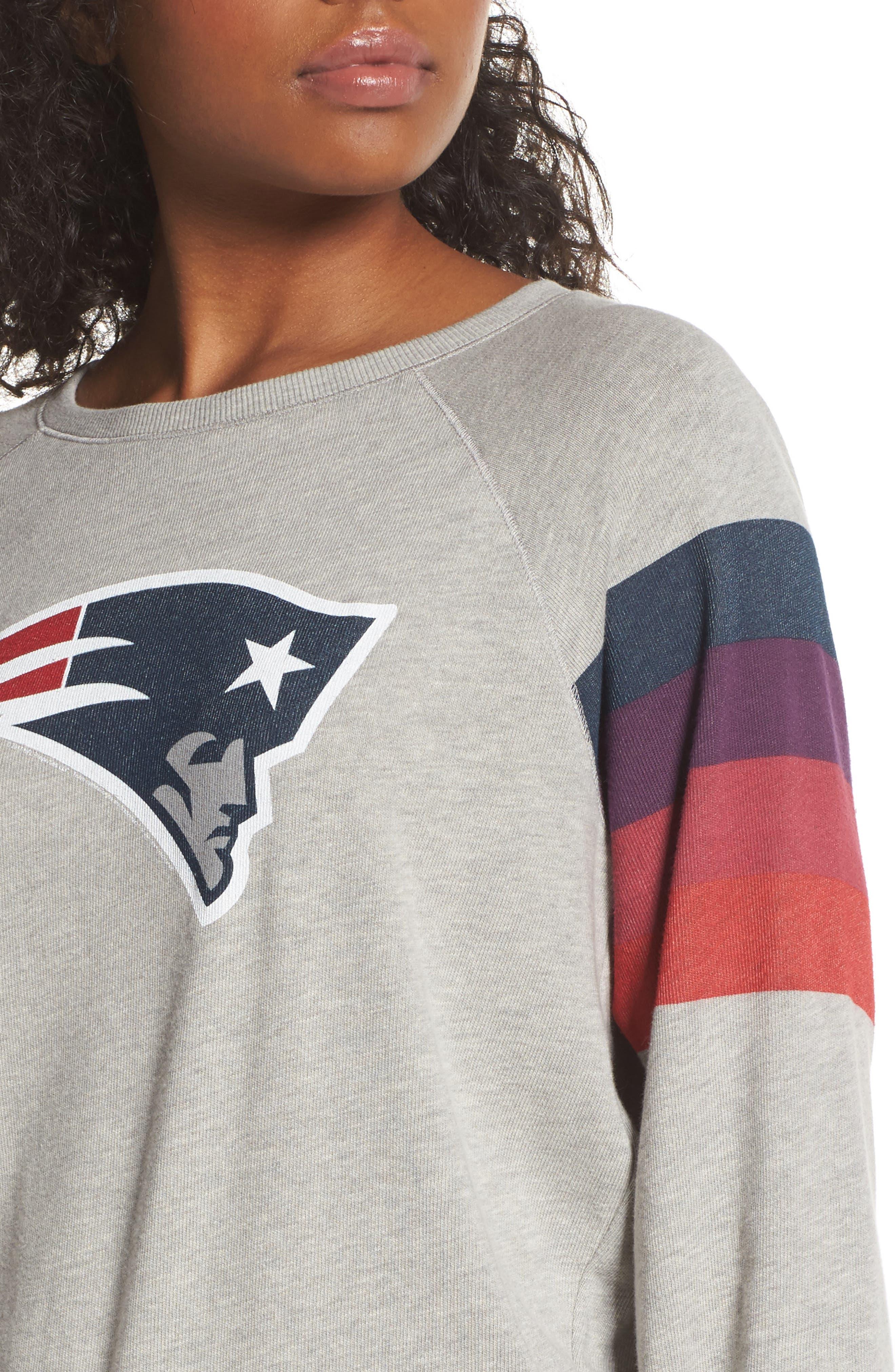 NFL New England Patriots Hacci Sweatshirt,                             Alternate thumbnail 4, color,                             030
