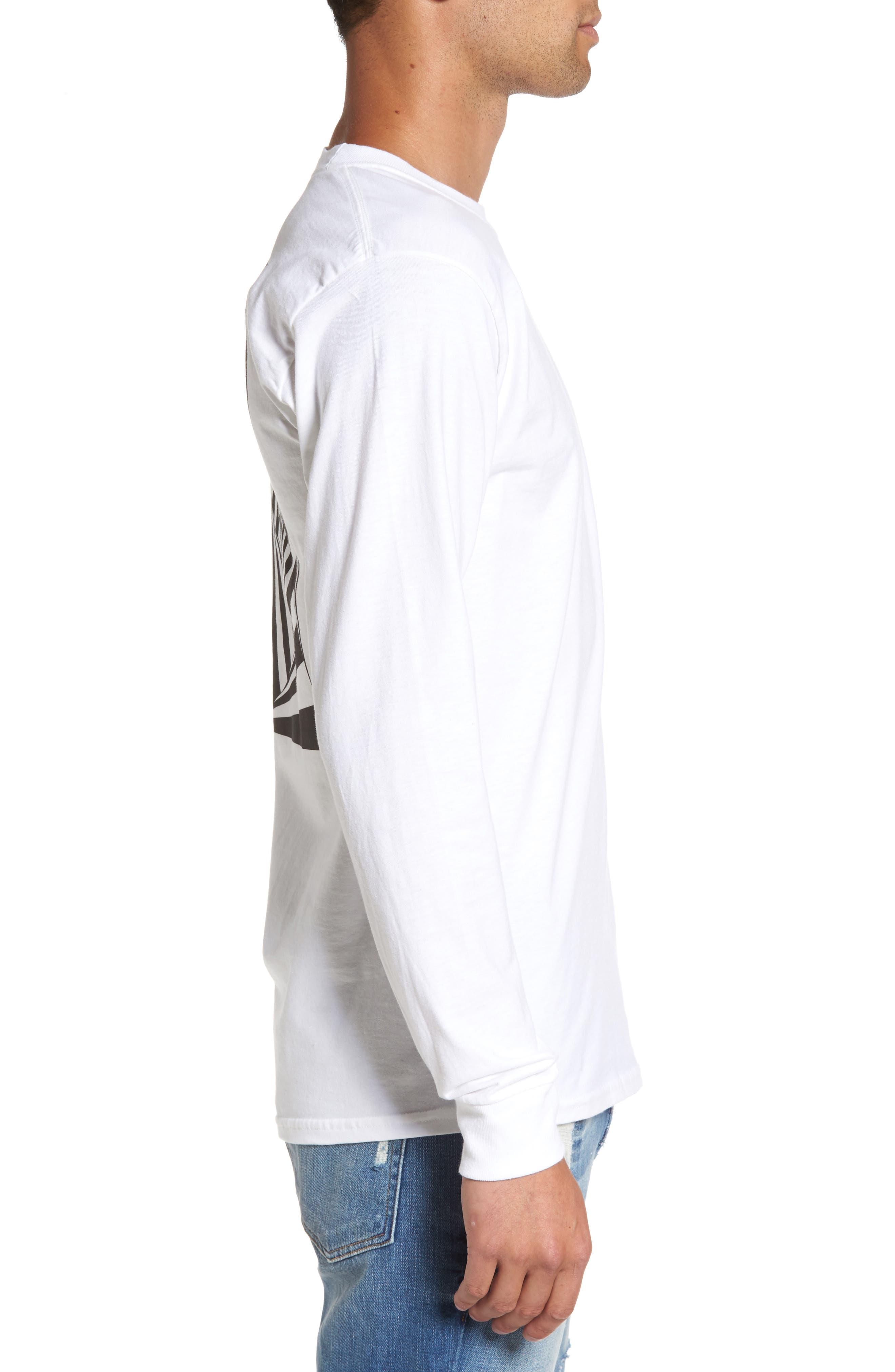 Vision Street Wear Long Sleeve T-Shirt,                             Alternate thumbnail 4, color,                             100