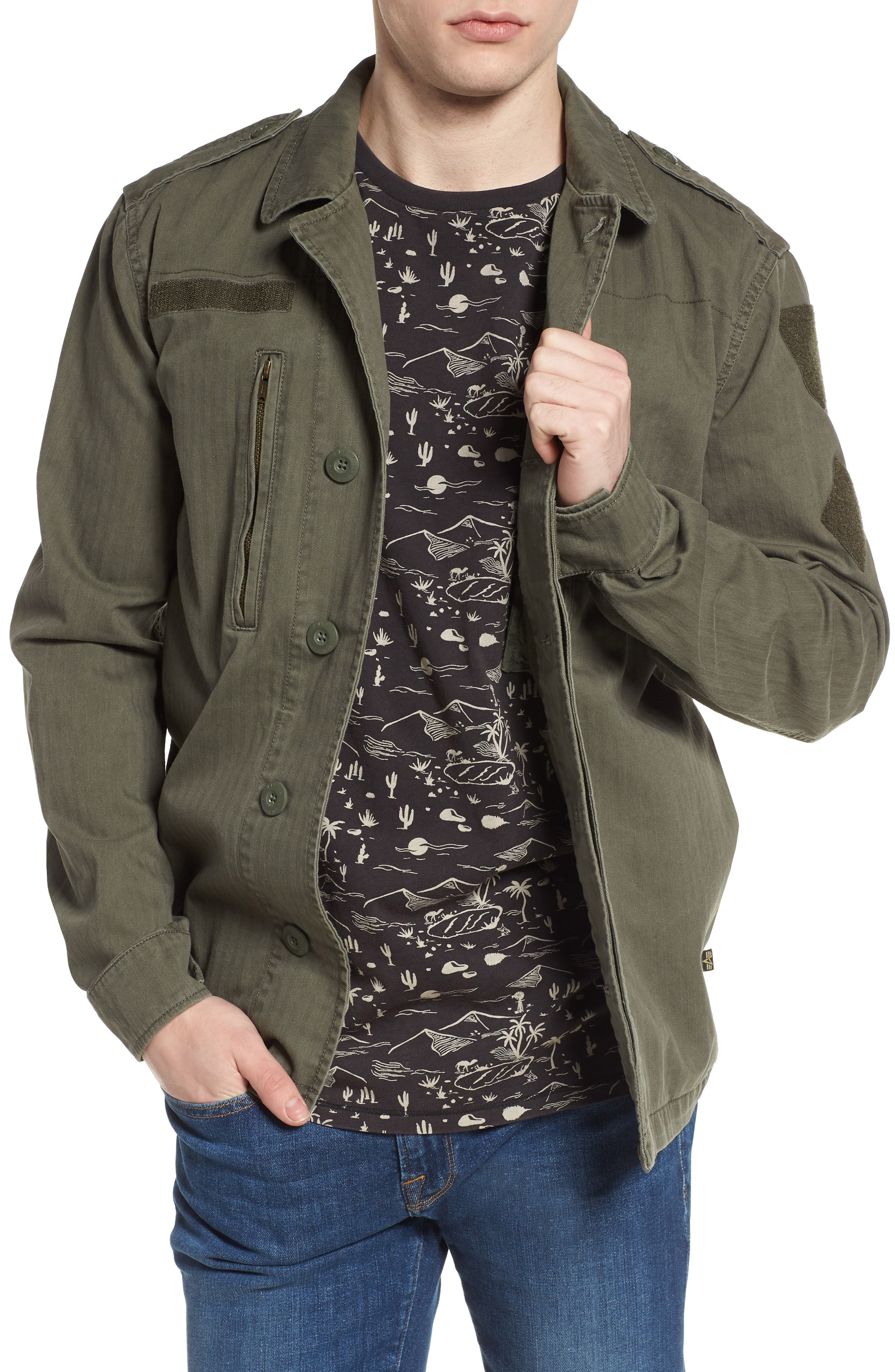 F-2 French Field Jacket,                         Main,                         color, 300