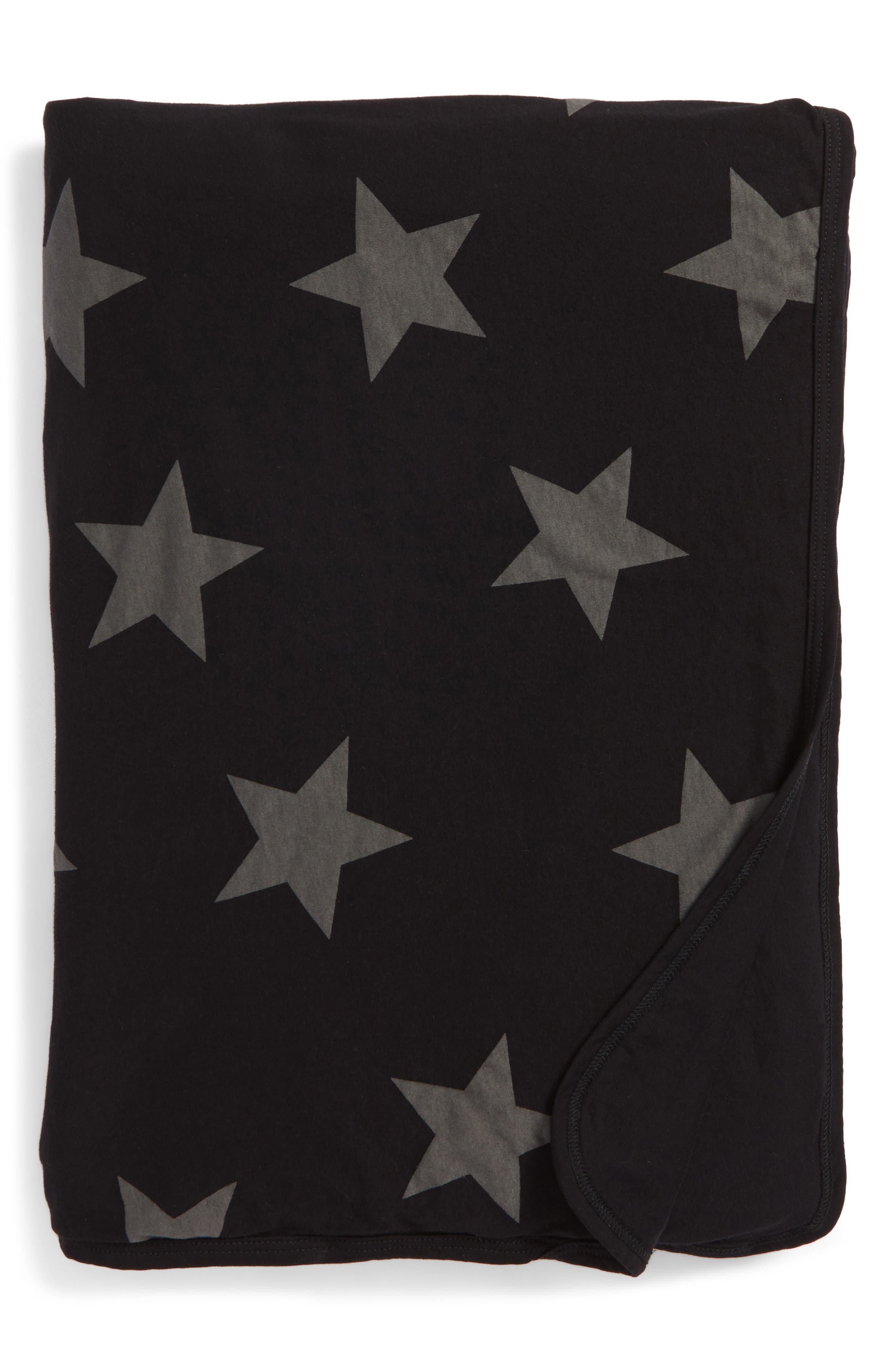 Star Print Blanket,                             Main thumbnail 1, color,                             001