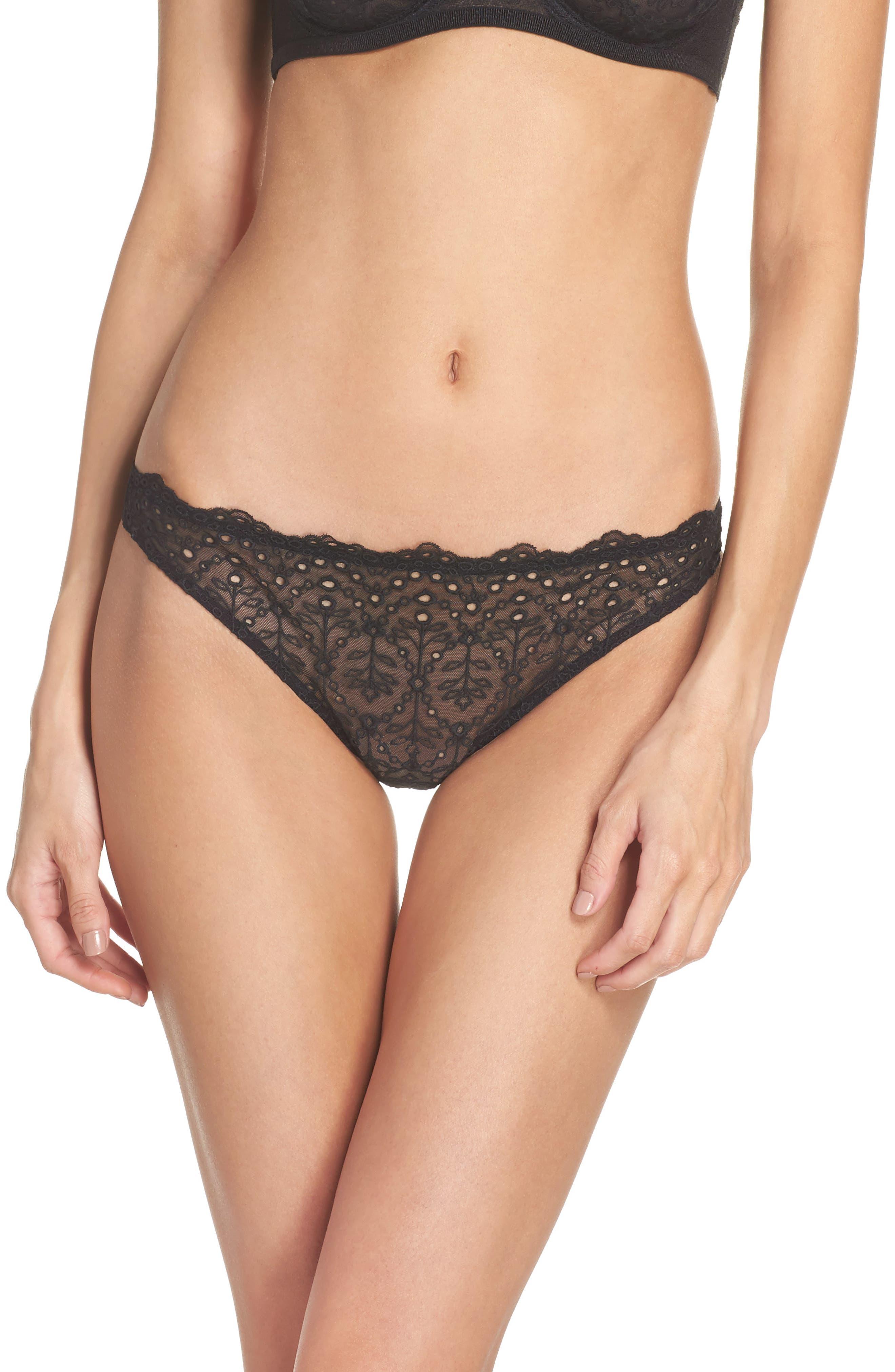 Intimately FP St. Tropez Tanga Panties,                         Main,                         color, 001