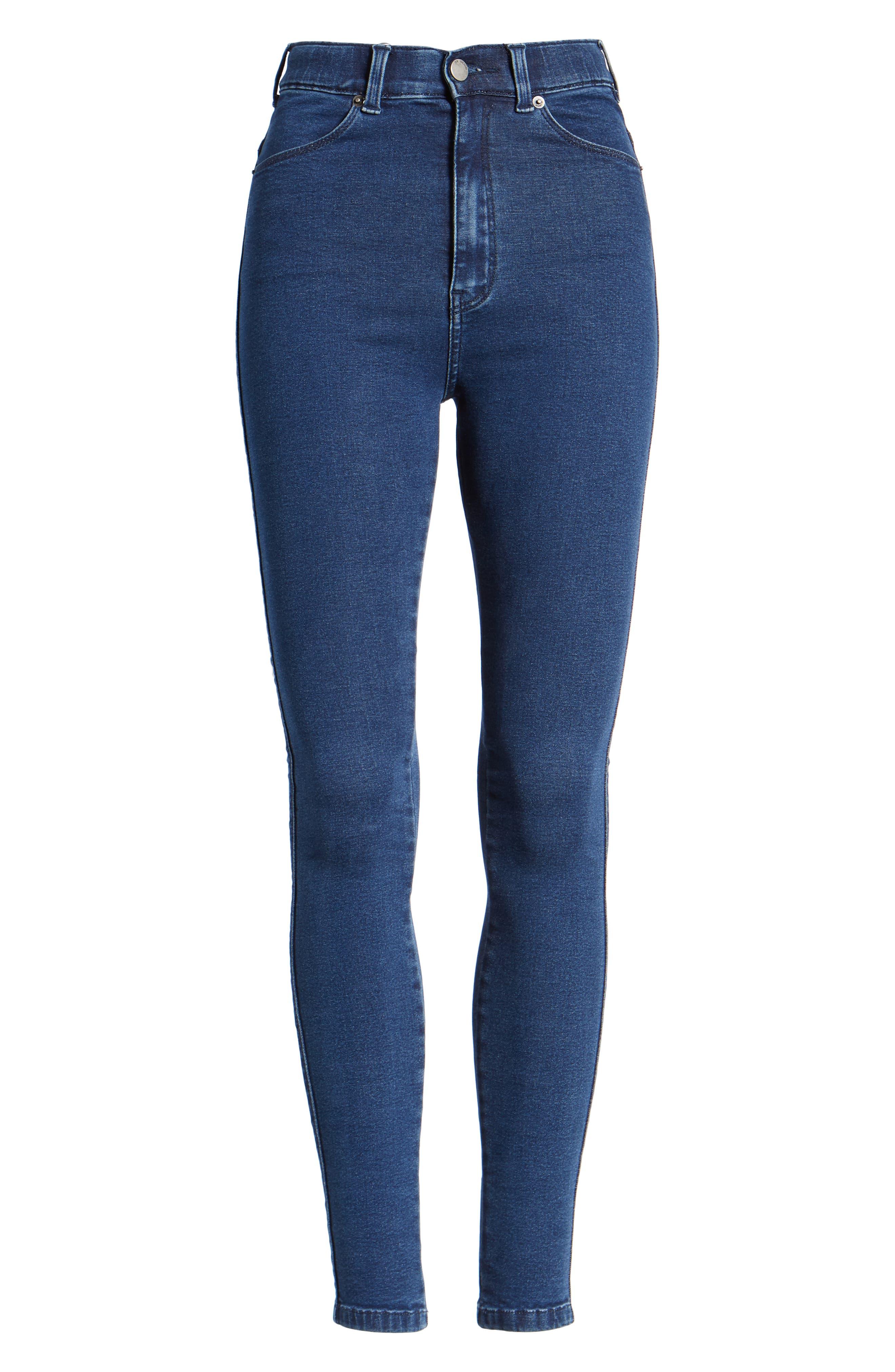 Moxy Skinny Jeans,                             Alternate thumbnail 7, color,                             400