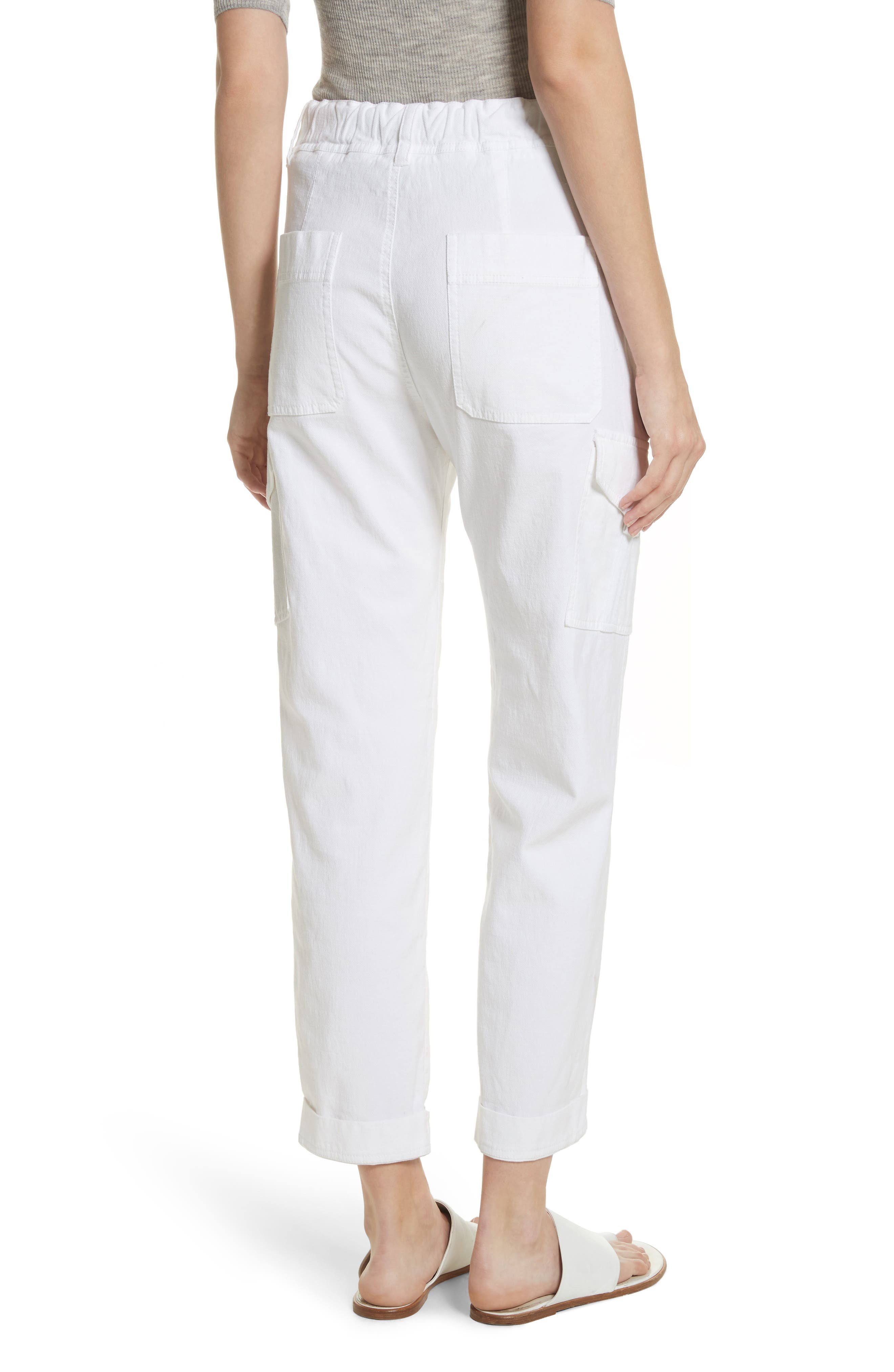 Tapered Utility Stretch Cotton Pants,                             Alternate thumbnail 2, color,                             137