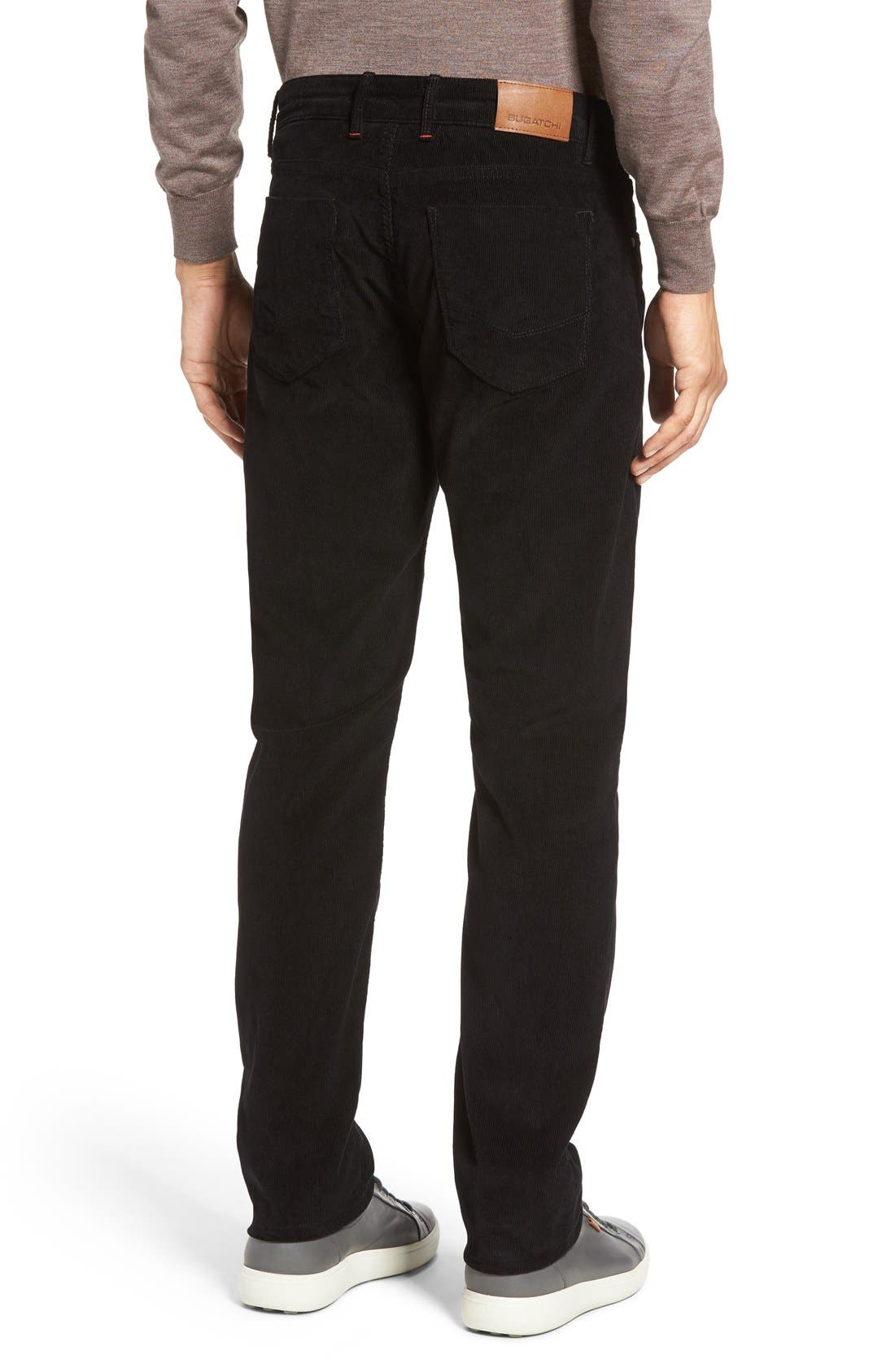 Slim Fit Corduroy Pants,                             Alternate thumbnail 7, color,