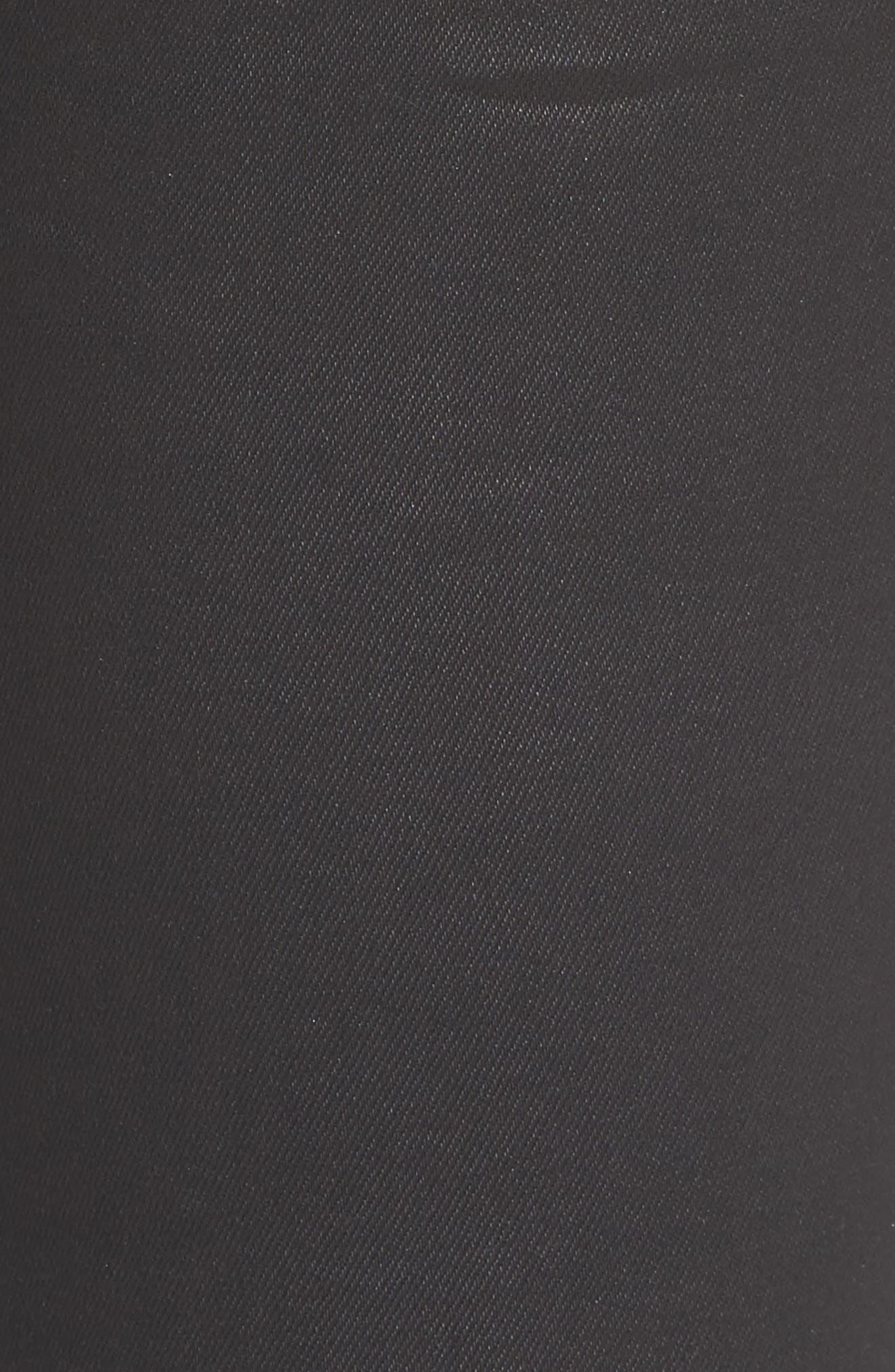 Florence Instasculpt Crop Skinny Jeans,                             Alternate thumbnail 5, color,                             001