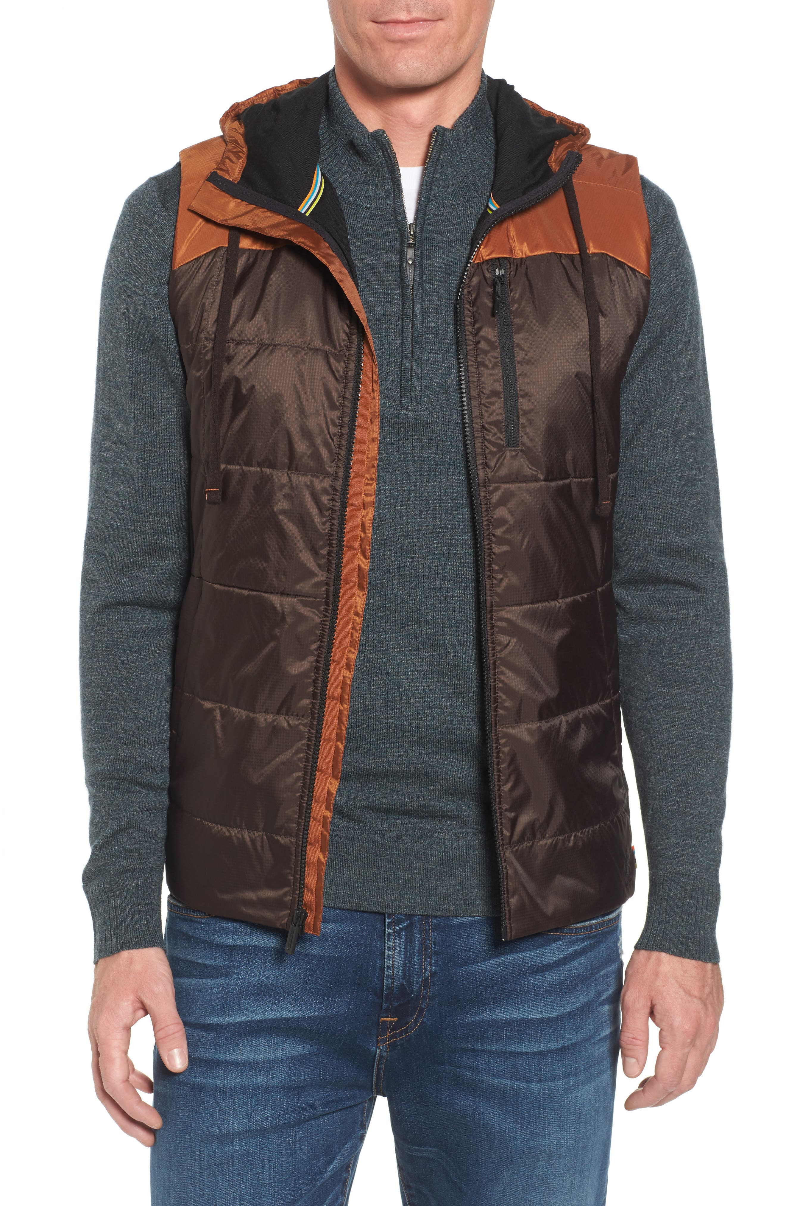 Double Propulsion Hooded Vest,                             Main thumbnail 1, color,                             200