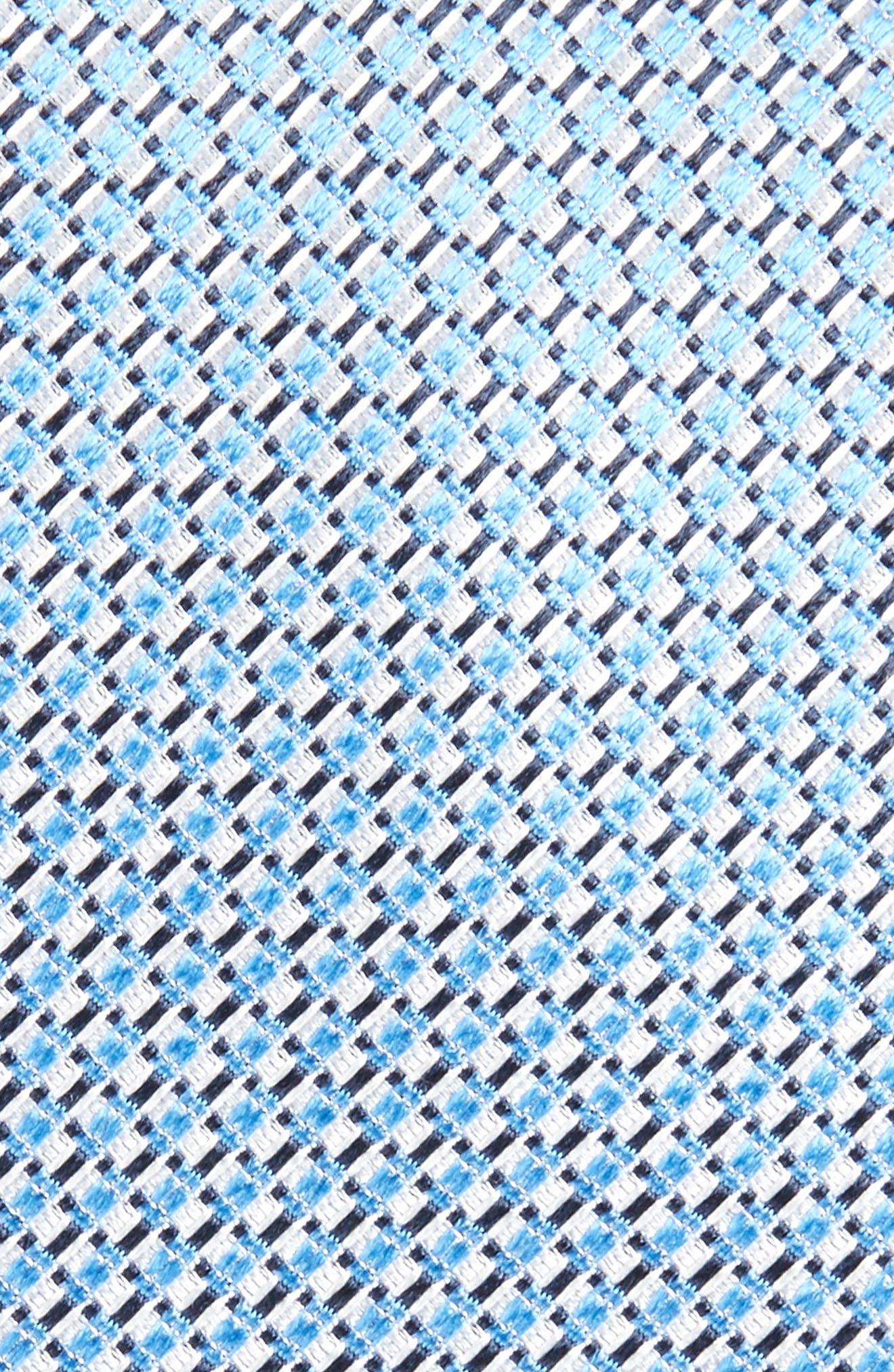 Geometric Neat Silk Tie,                             Alternate thumbnail 2, color,                             420