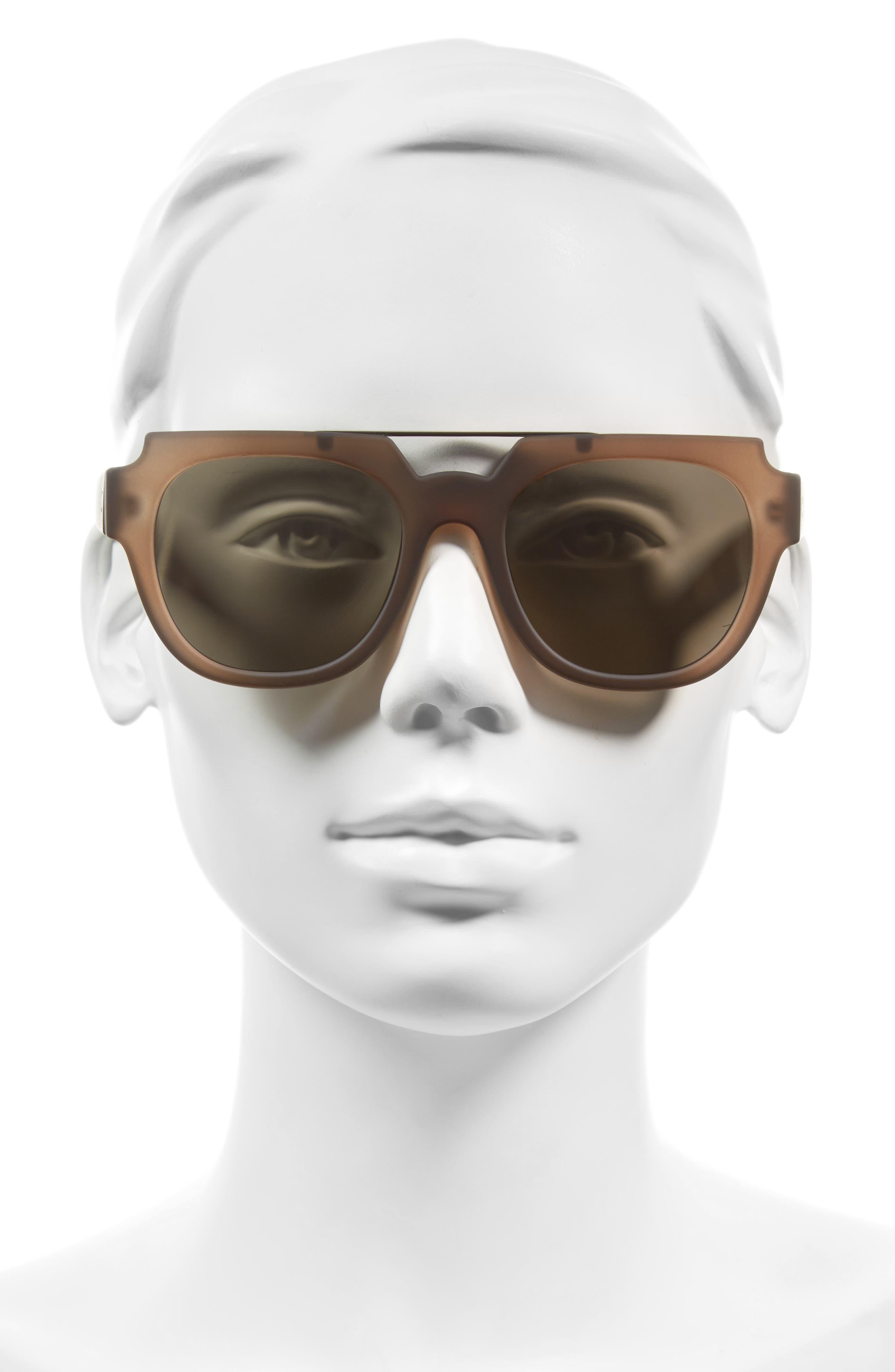 La Habana 52mm Retro Sunglasses,                             Alternate thumbnail 6, color,