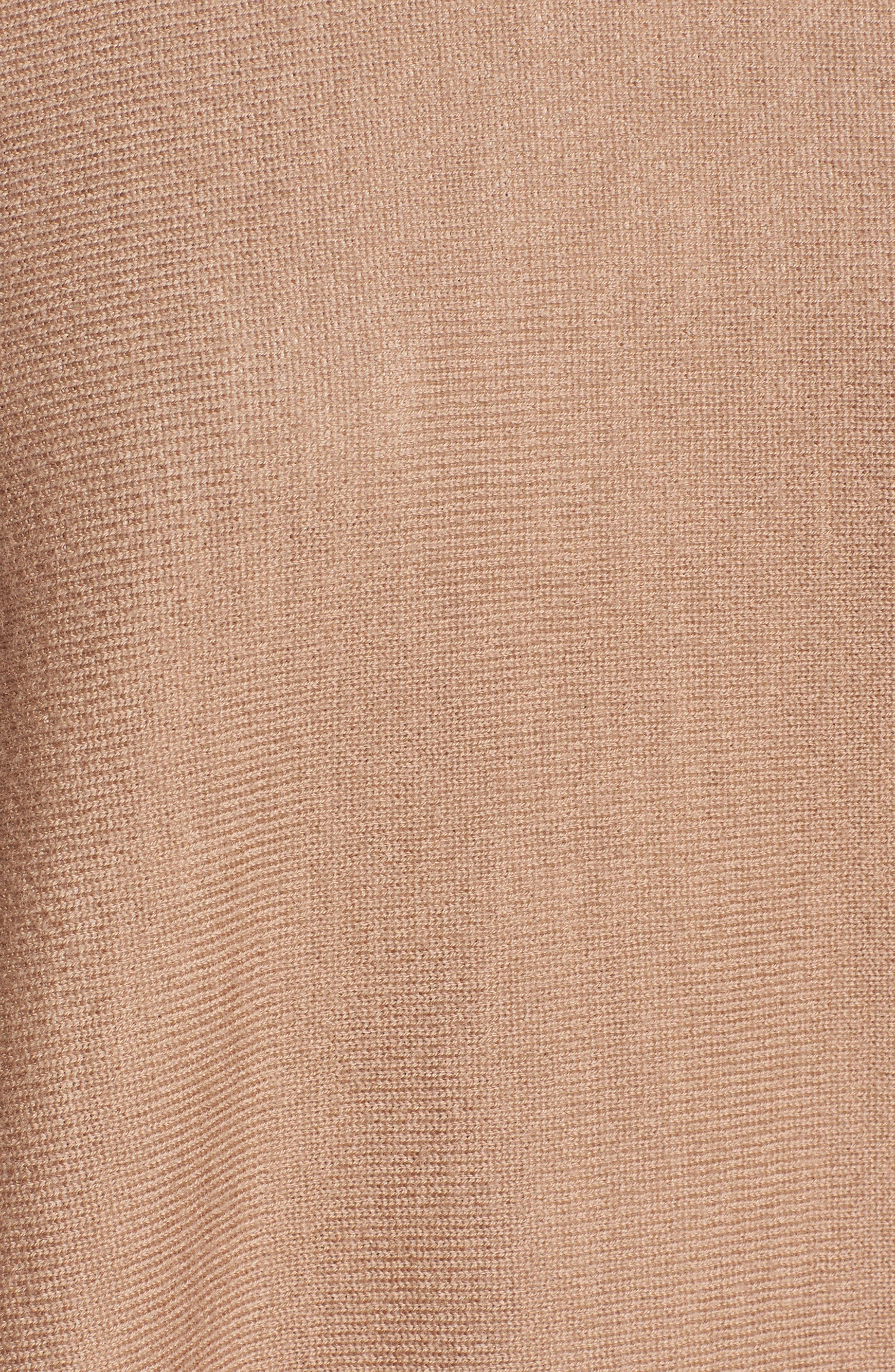 Lilja Wool Poncho,                             Alternate thumbnail 5, color,                             269