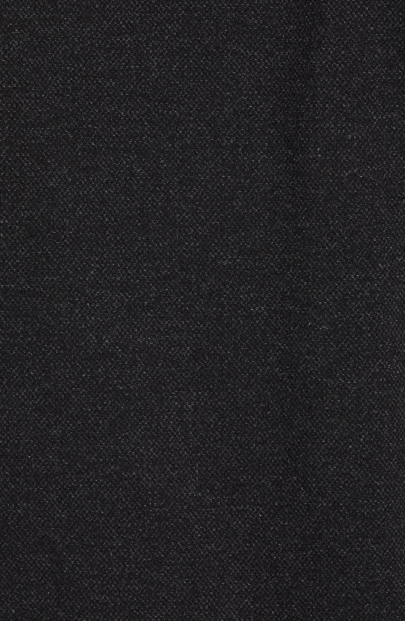Flapjak Knit Shirt,                             Alternate thumbnail 6, color,                             BLACK