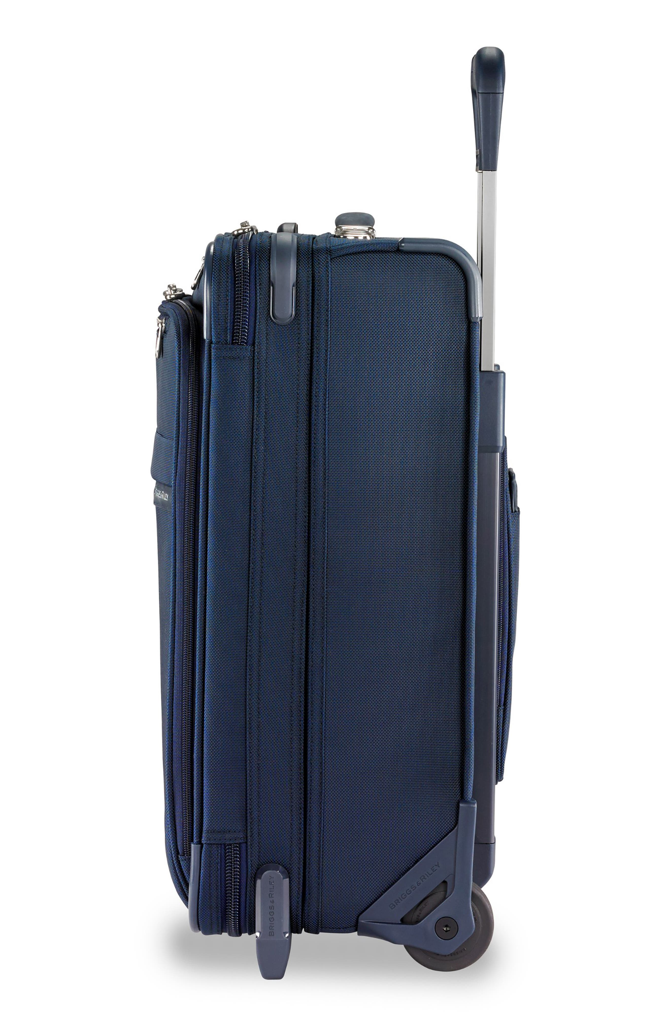 21-Inch Baseline Widebody International Rolling Carry-On,                             Alternate thumbnail 3, color,                             NAVY