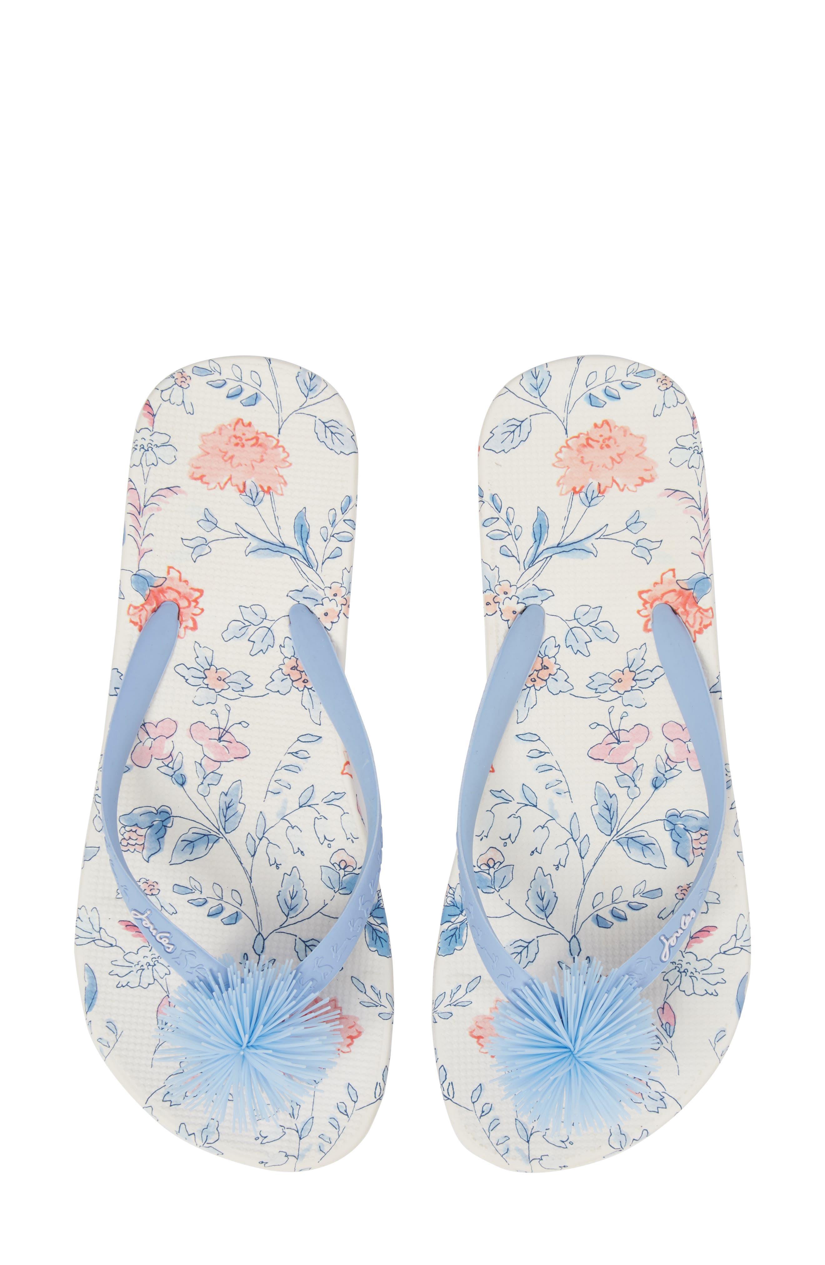 Embellished Flip Flop,                         Main,                         color, 107