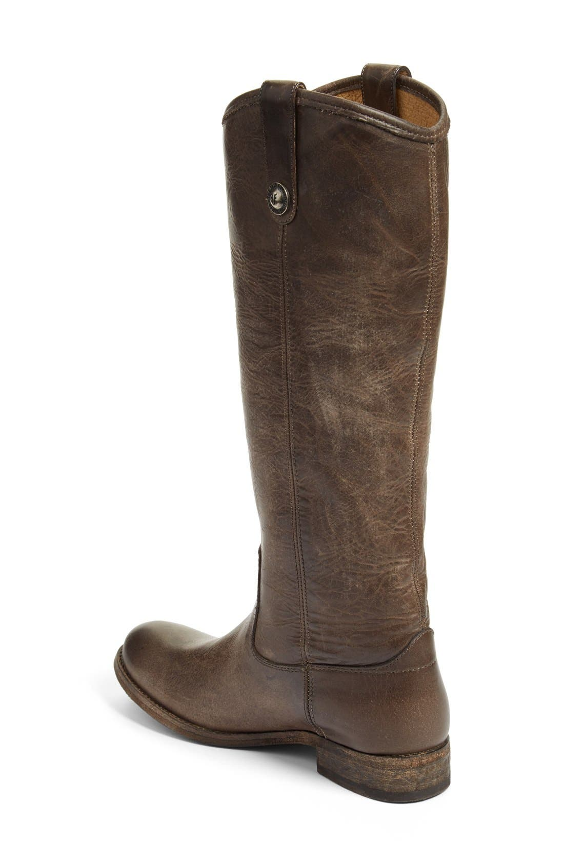 'Melissa Button' Leather Riding Boot,                             Alternate thumbnail 158, color,