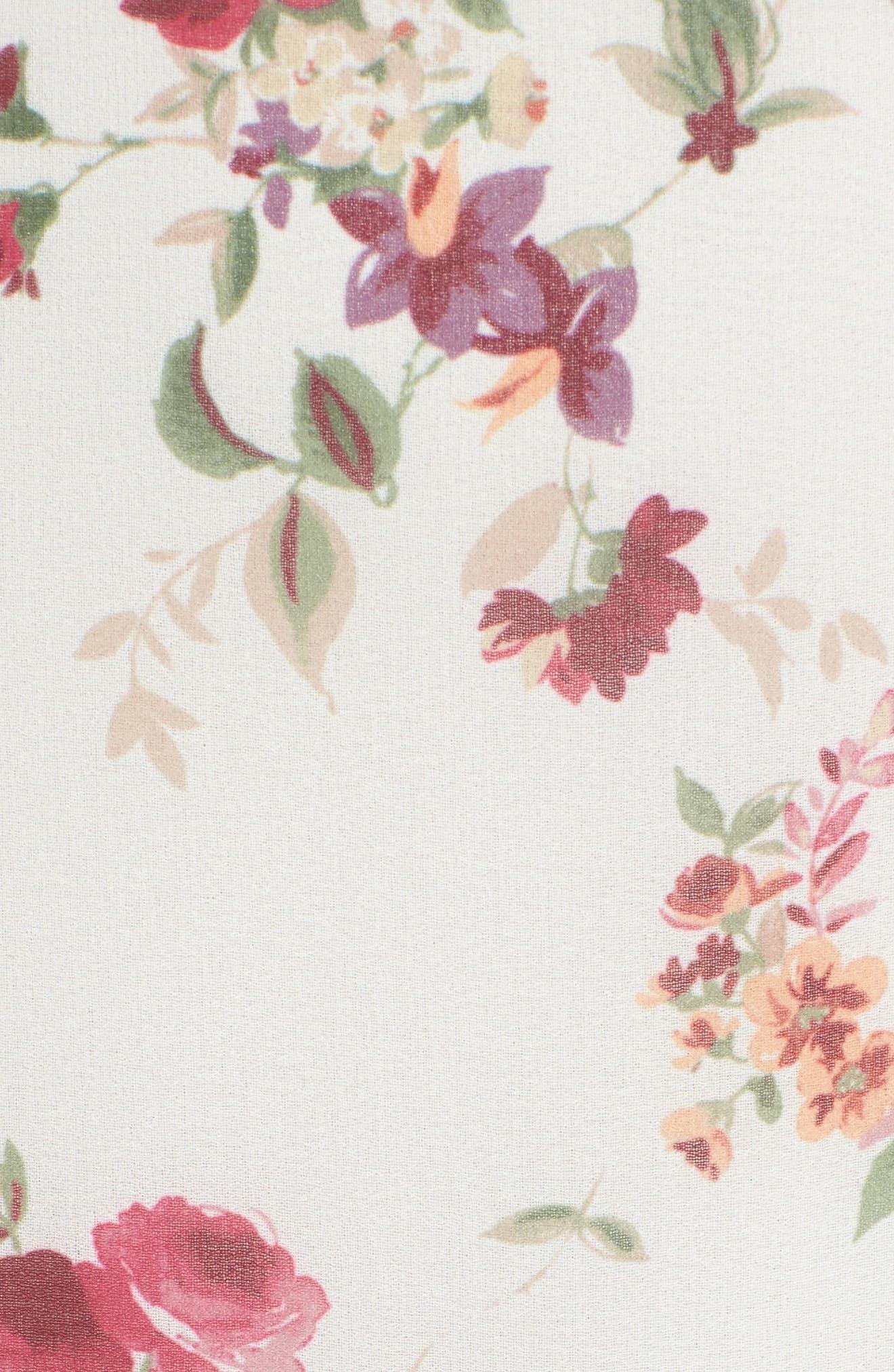 Imola Tiered Midi Dress,                             Alternate thumbnail 6, color,                             900