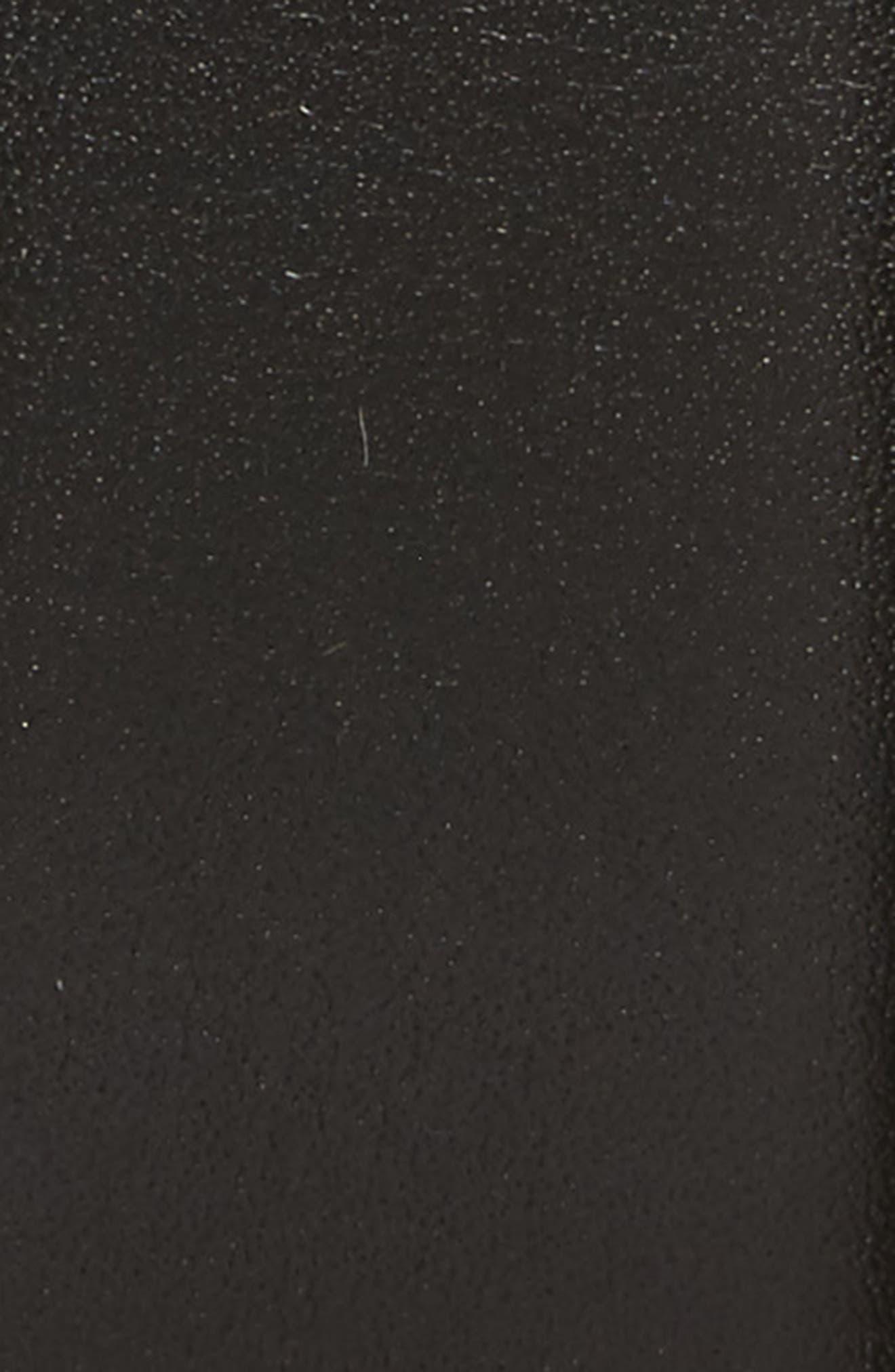 Nappa Leather Belt,                             Alternate thumbnail 2, color,                             001