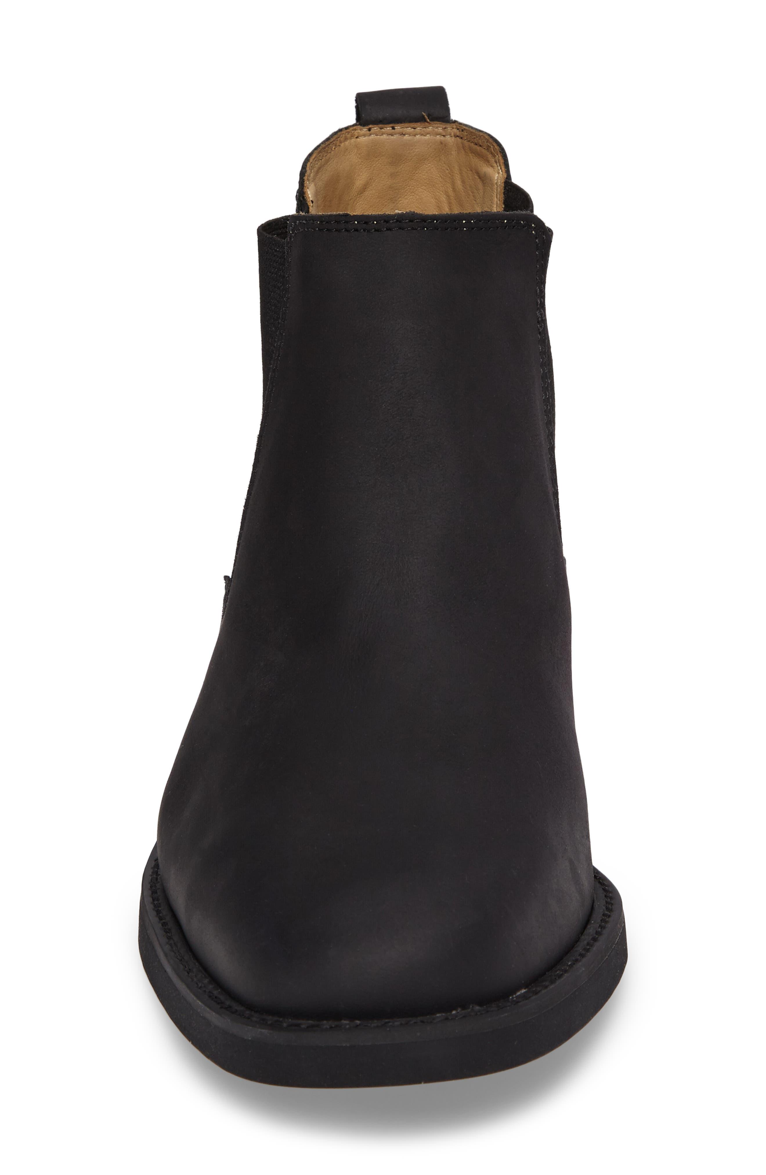 Cardoso Chelsea Boot,                             Alternate thumbnail 4, color,                             MUSTANG BLACK