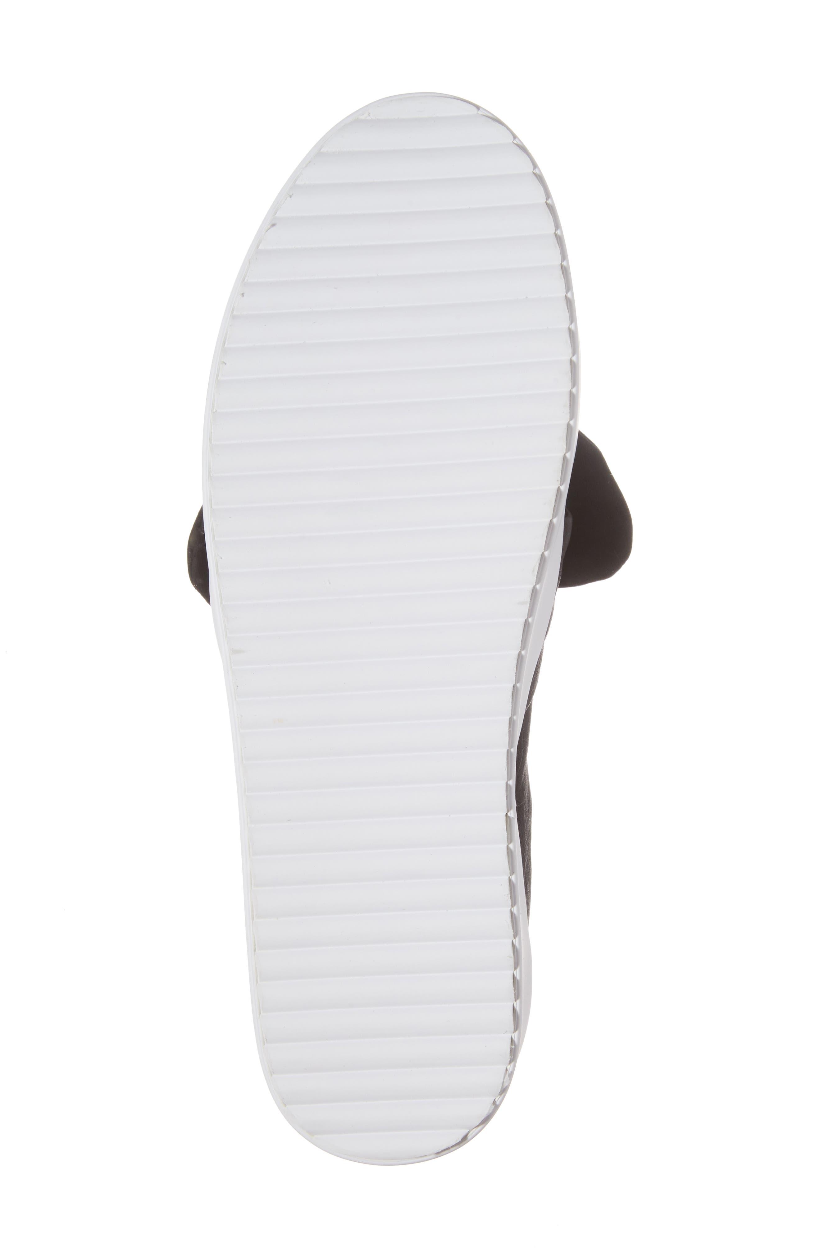 Stacey Studded Platform Slip-On,                             Alternate thumbnail 6, color,                             001