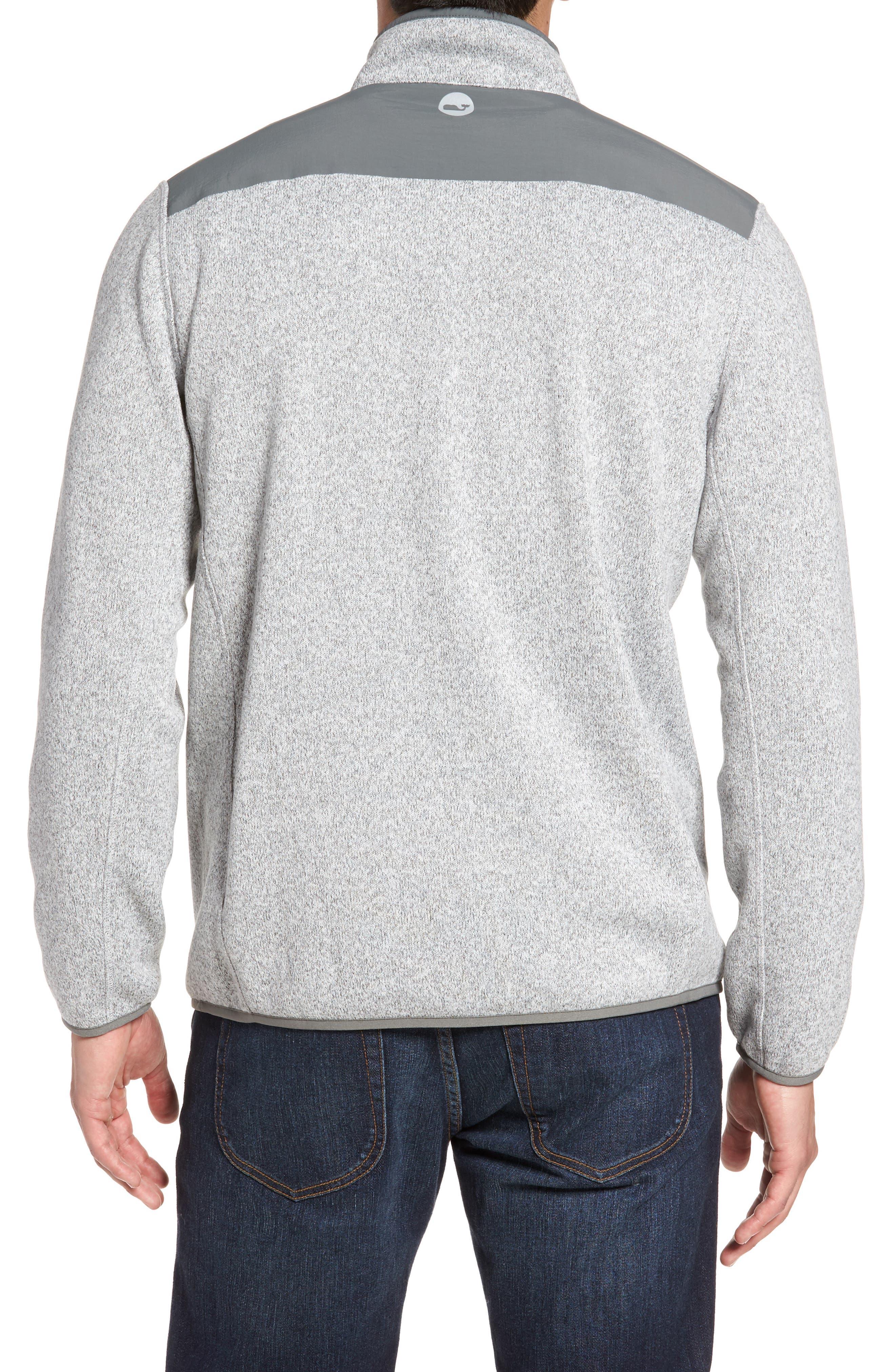 Shep Quarter Zip Fleece Sweater,                             Alternate thumbnail 2, color,                             039