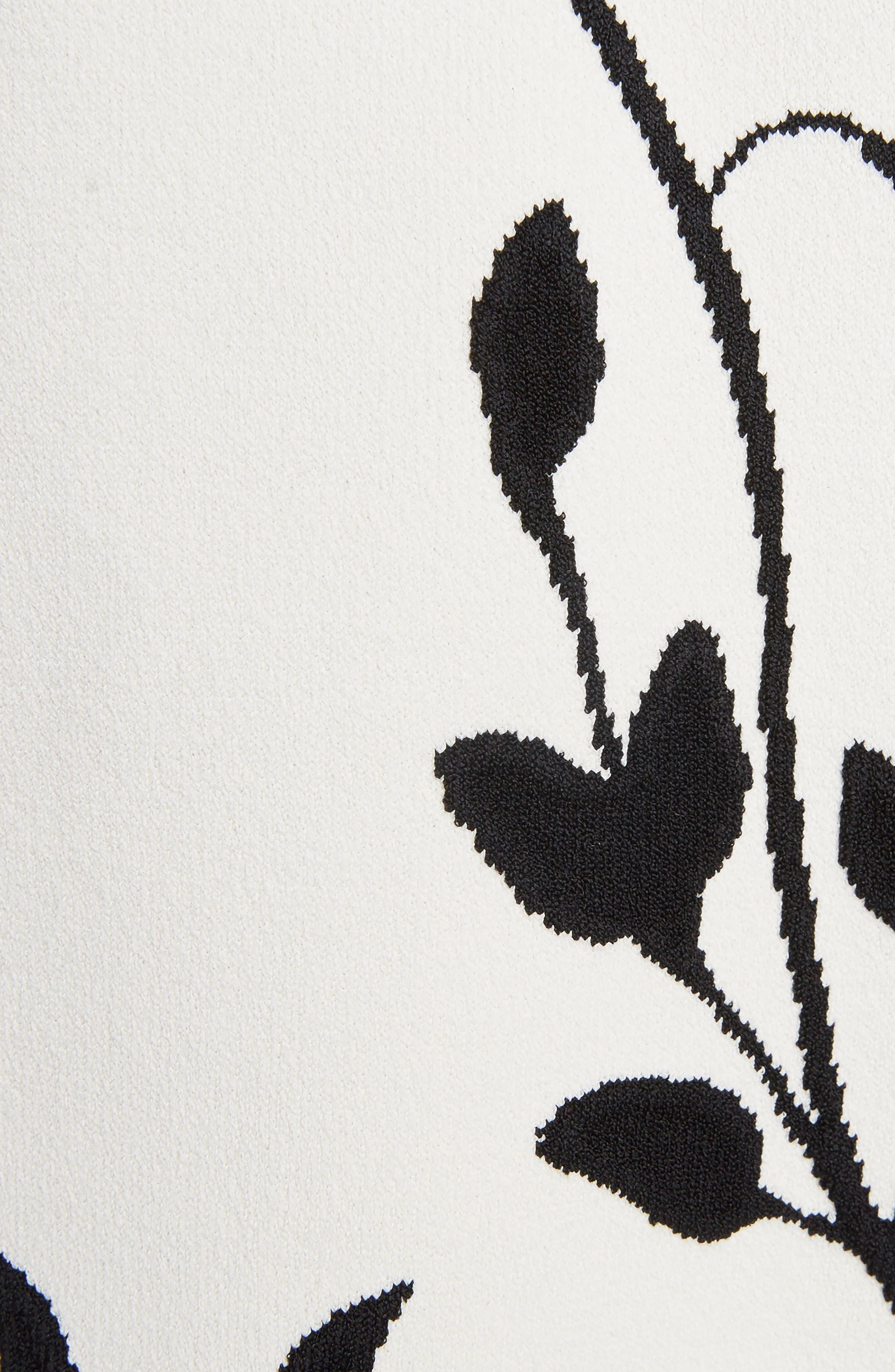 Botanical Jacquard Bomber,                             Alternate thumbnail 5, color,                             106