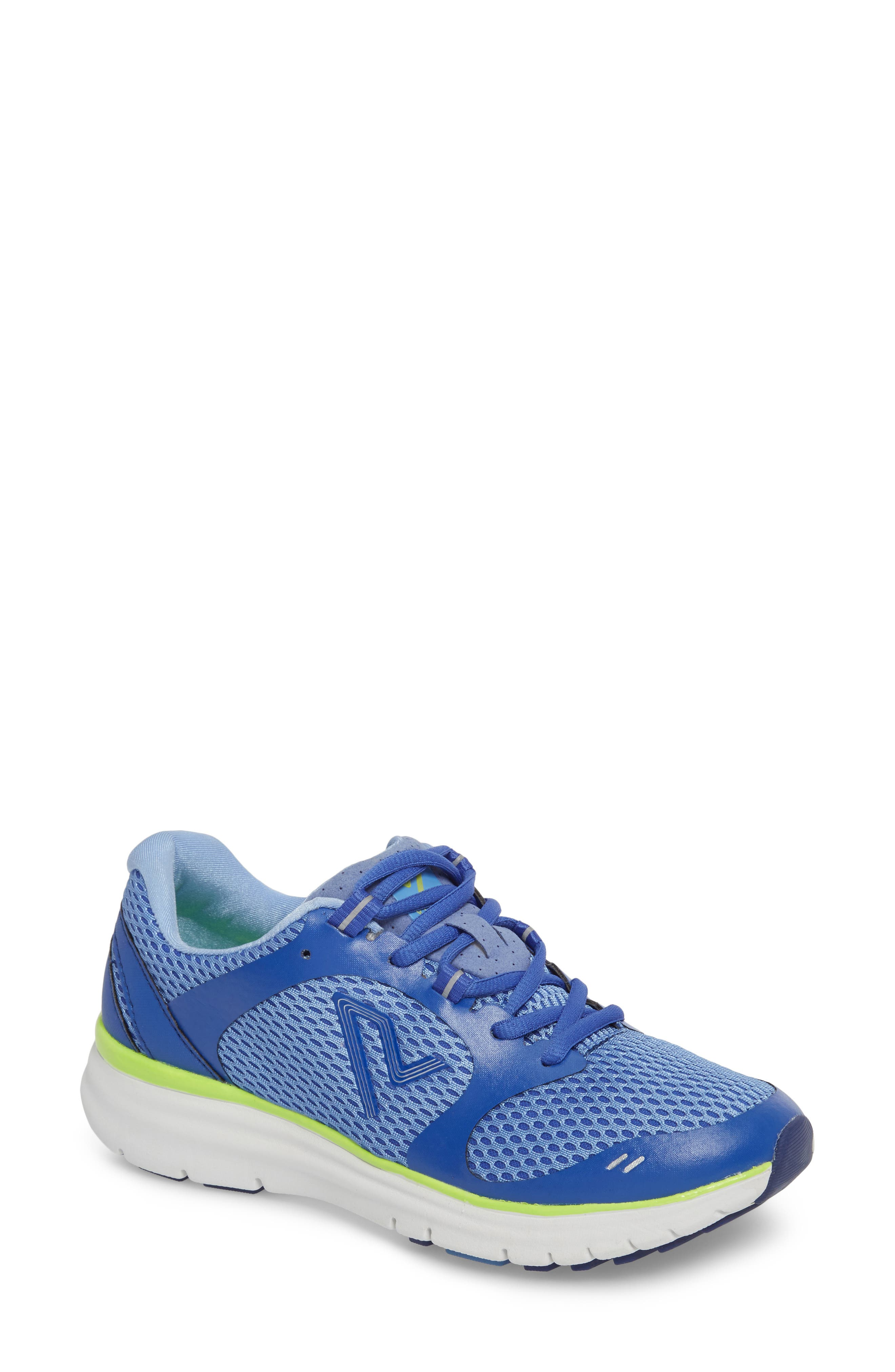 Elation Sneaker,                             Main thumbnail 1, color,                             BLUE/ YELLOW